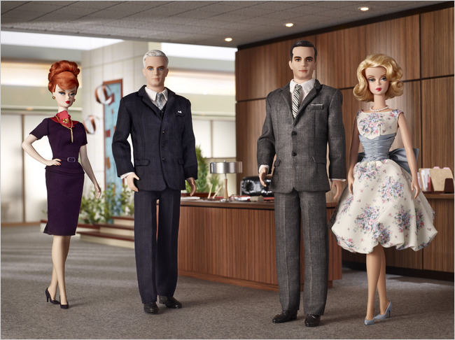 Dear Santa Please May I Have a Mad Men Barbie