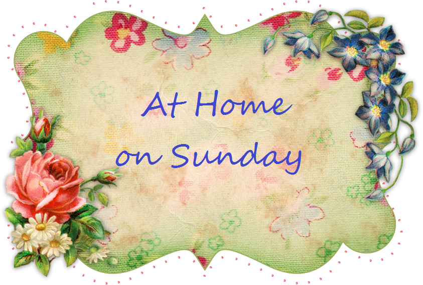 At Home on Sunday – Toile de Jouy