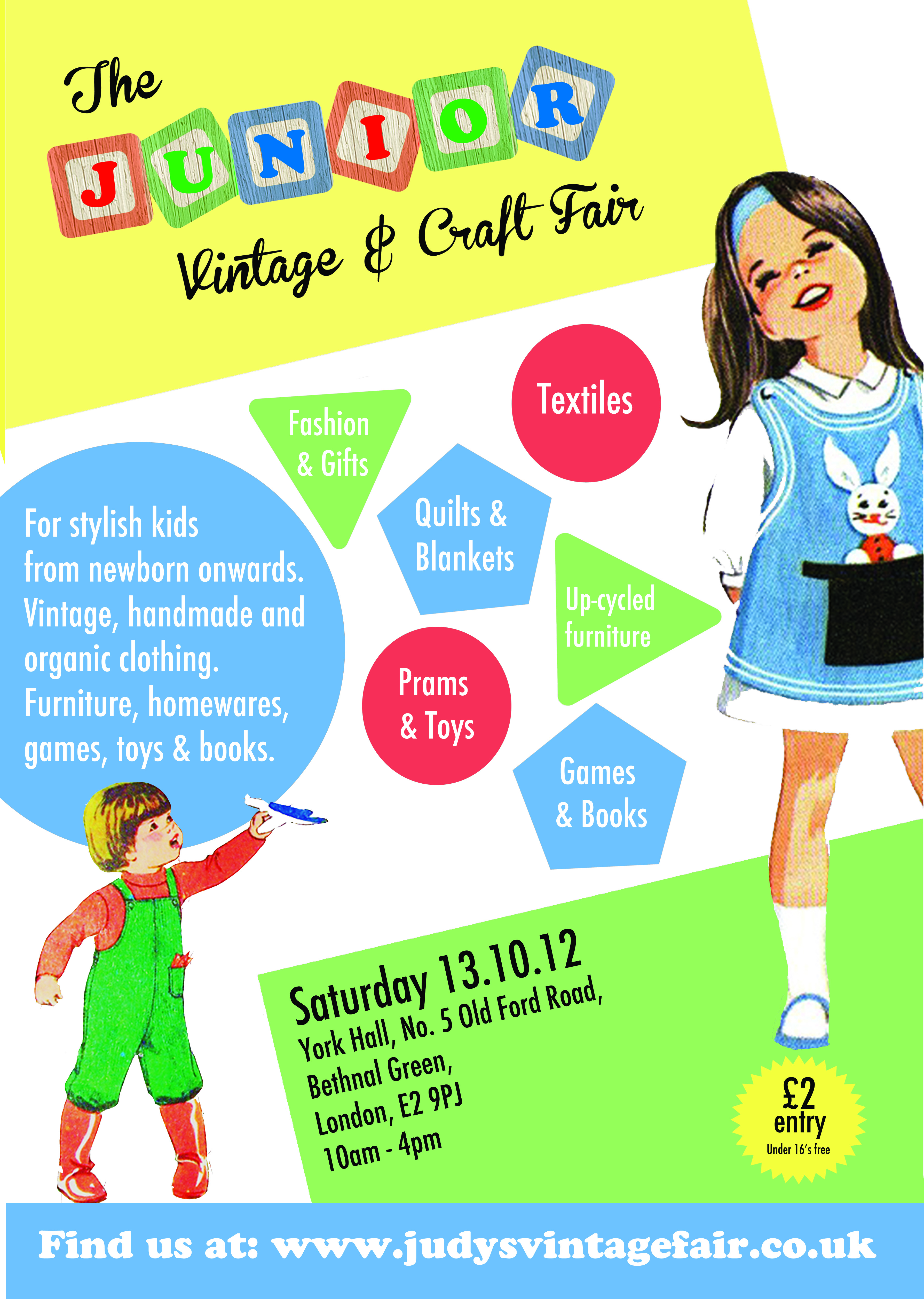 Out and About – The Junior Vintage and Craft Fair