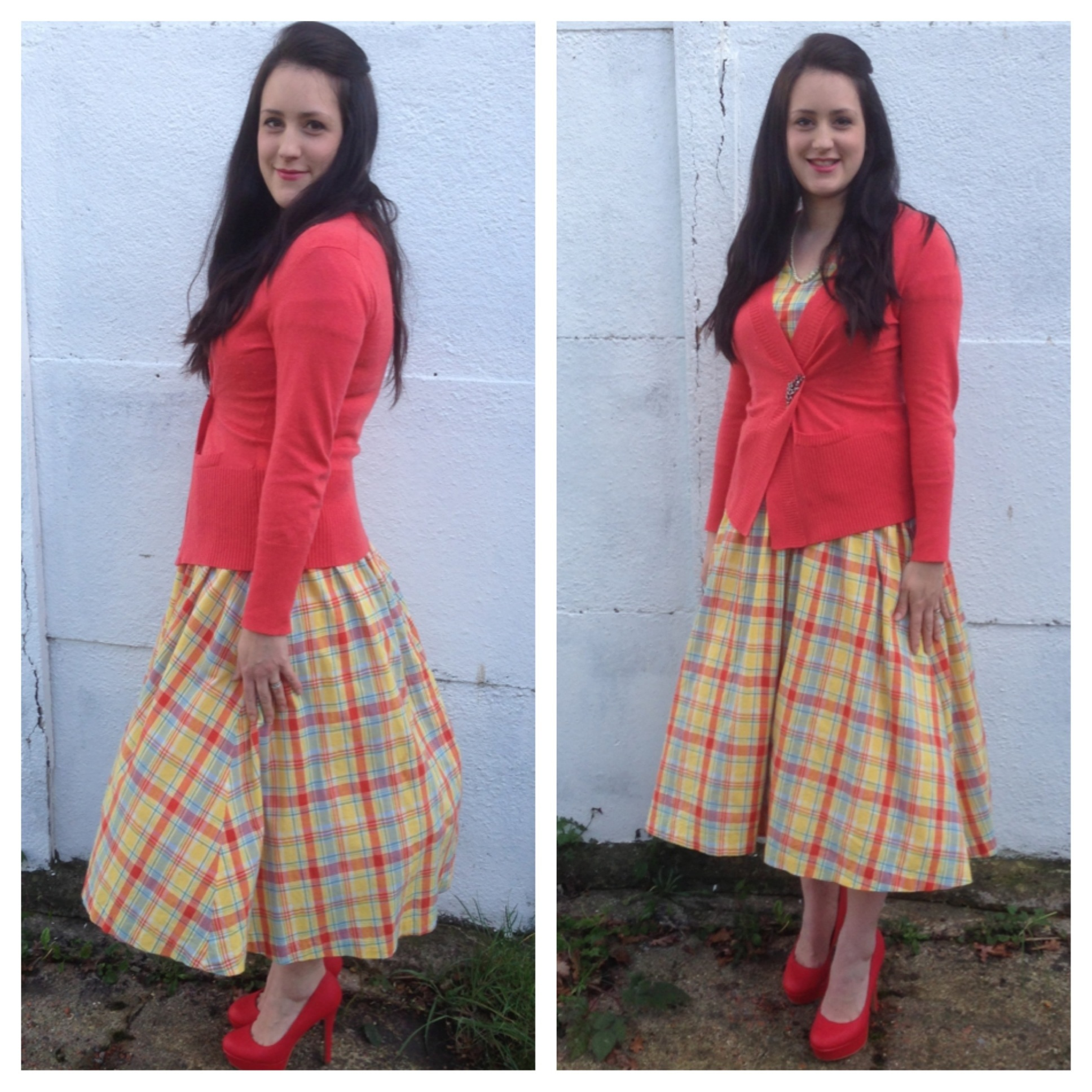 Outfit of the Day – Channelling the 50s Housewife!