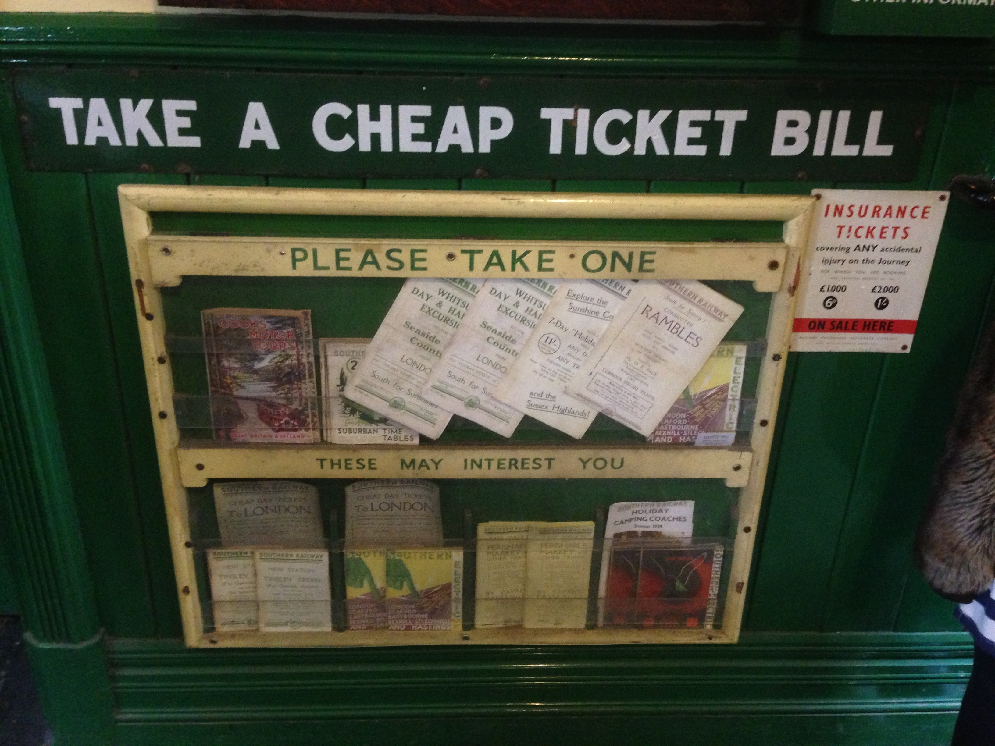 Our Trip to the Bluebell Railway