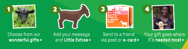 Give Something Really Special This Christmas with Oxfam Unwrapped