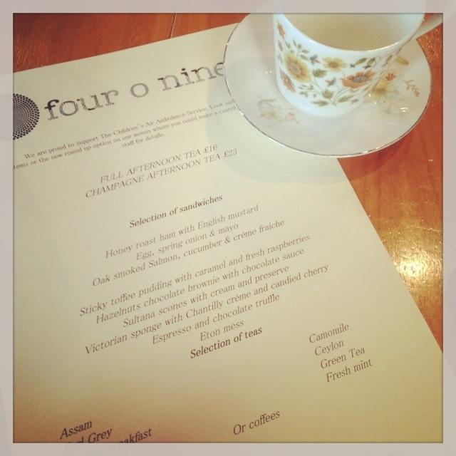 Birthday Afternoon Tea
