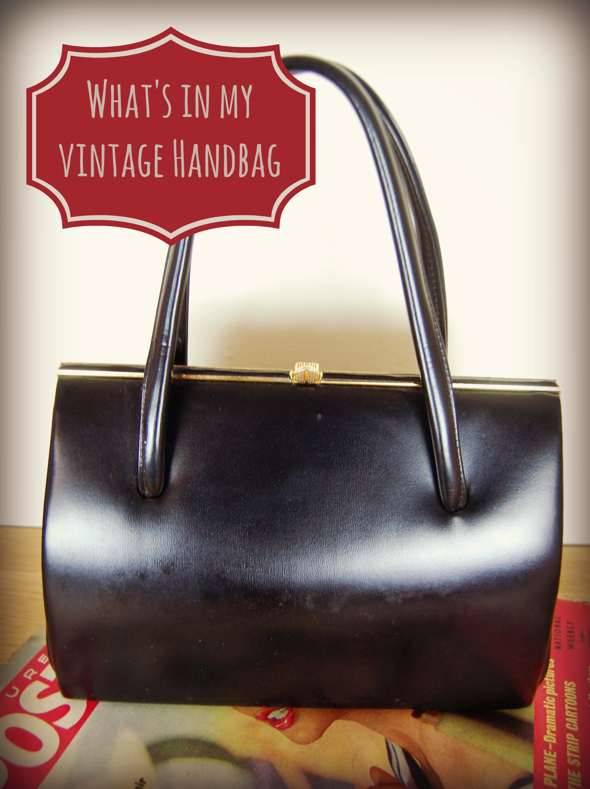 What's in my (Vintage) Handbag?