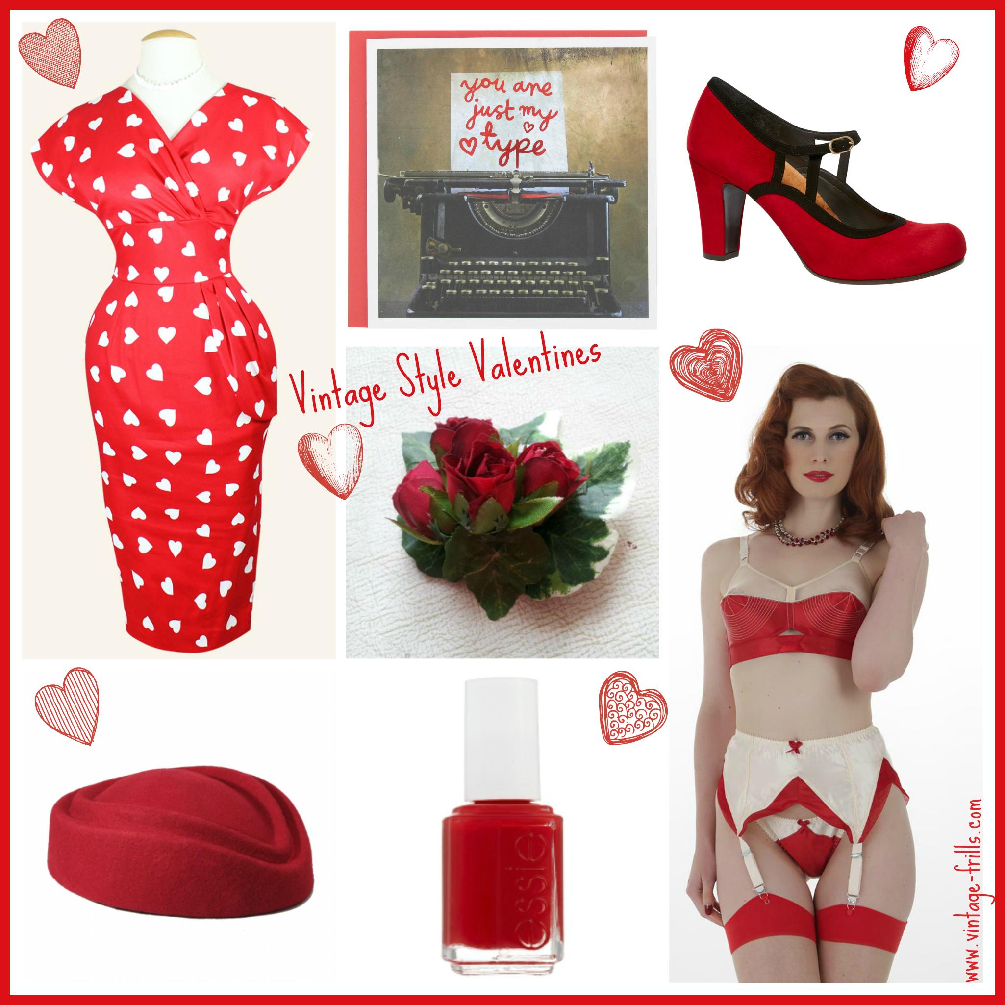 Vintage Valentines Favourites