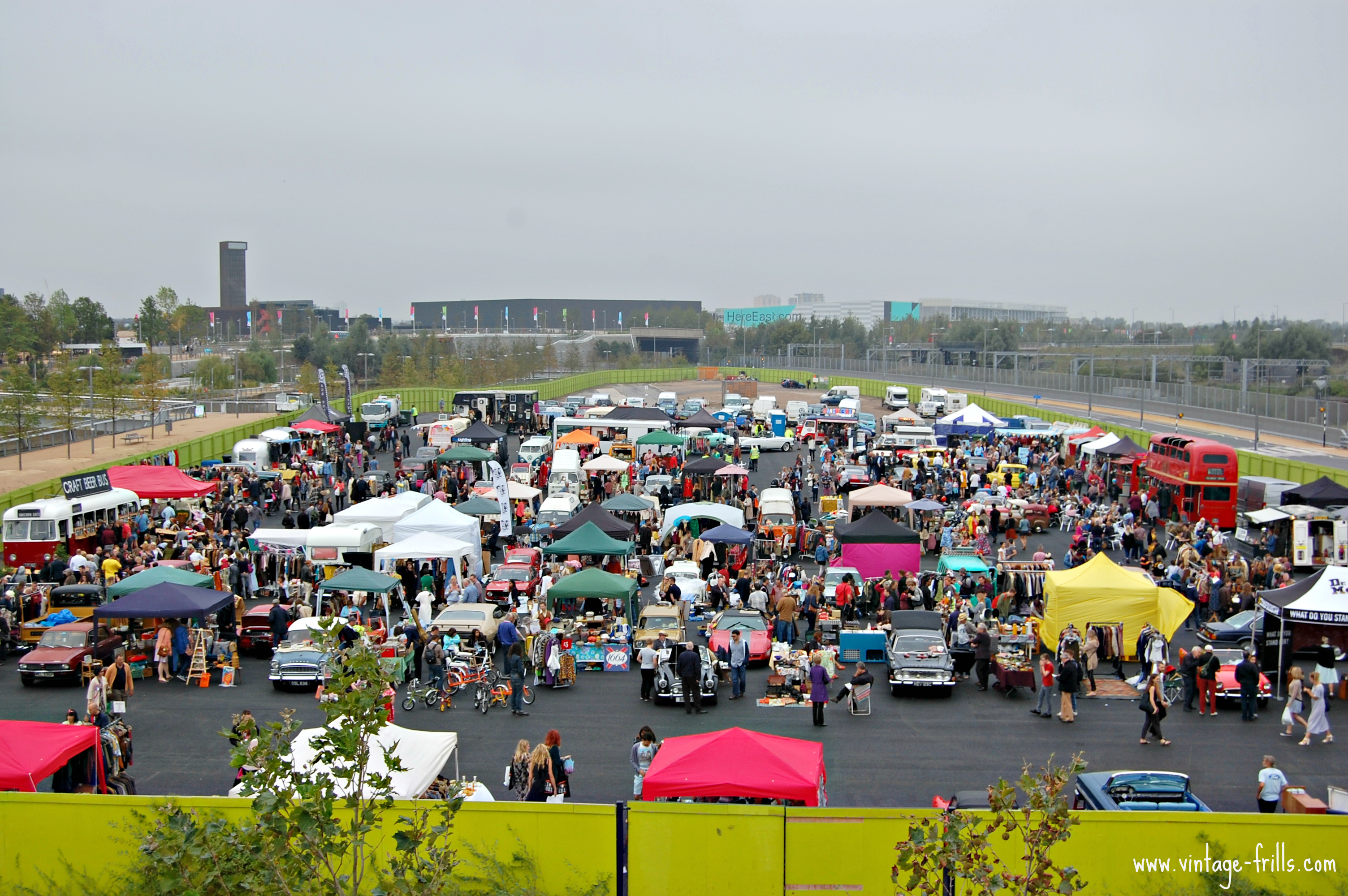 Classic Car Boot Sale, Queen Elizabeth Olympic Park,