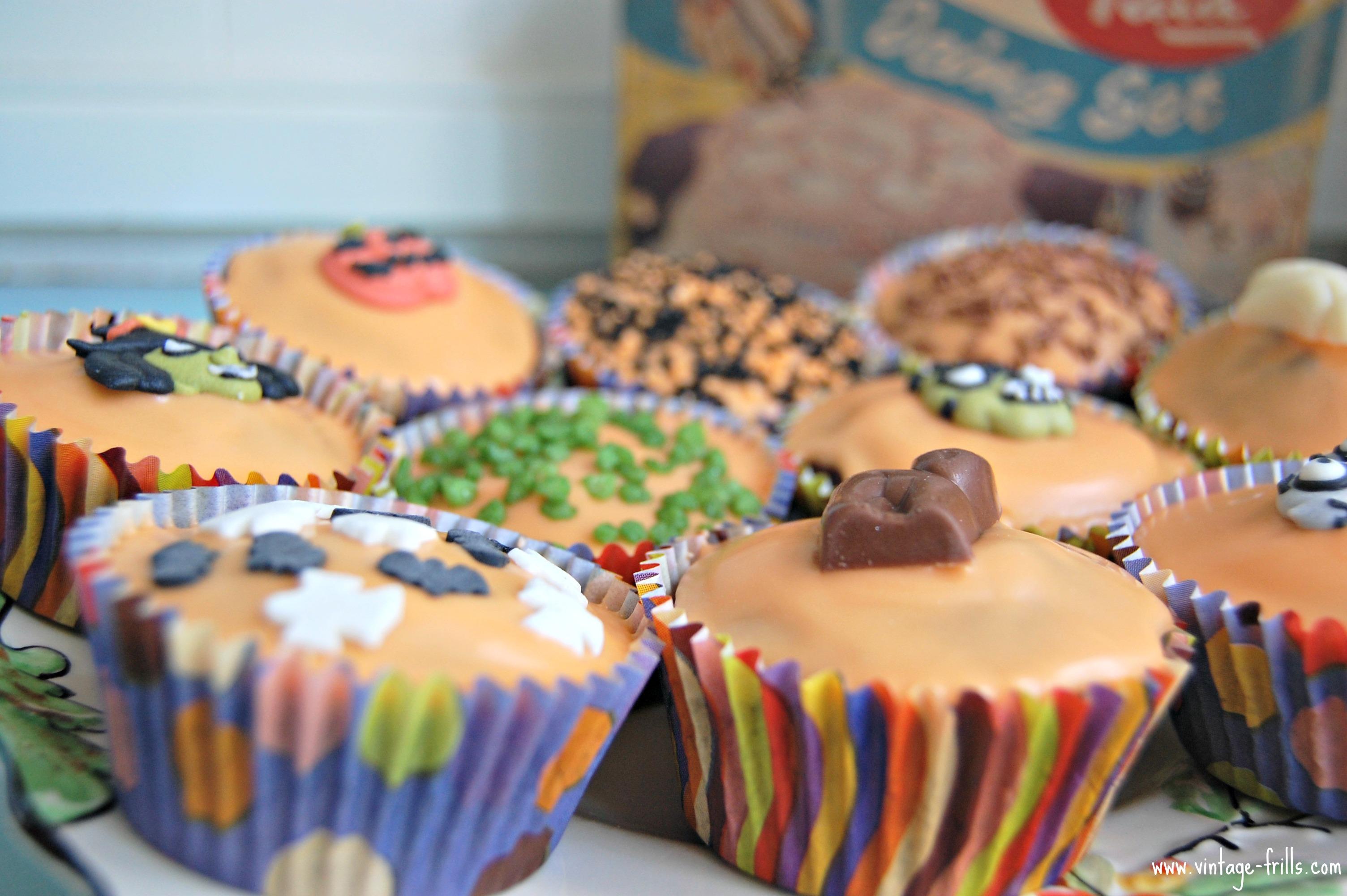 Halloween Cupcakes 4