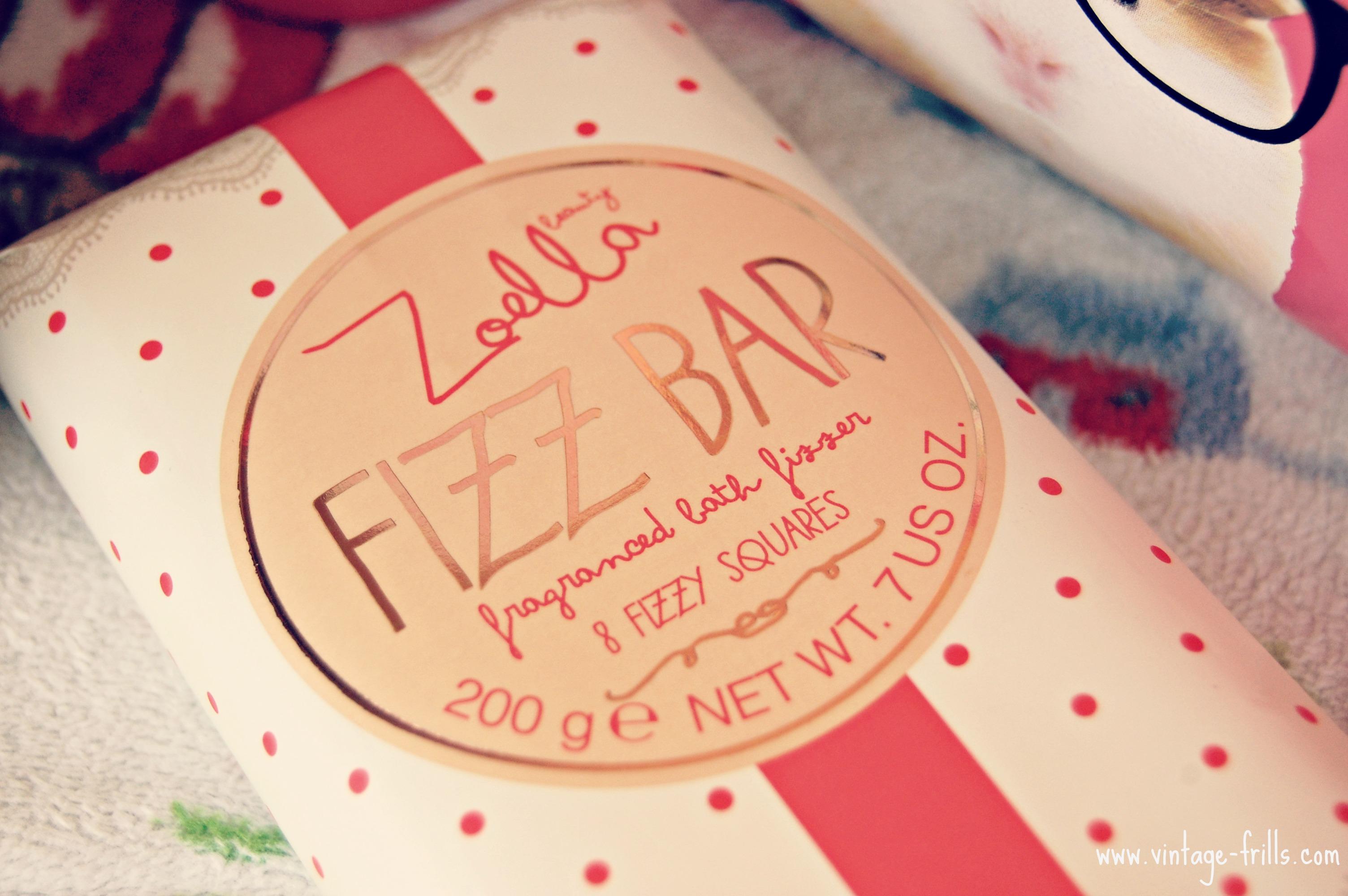 Zoella, Zoella Beauty, Fizz Bar, Bath Fizzer