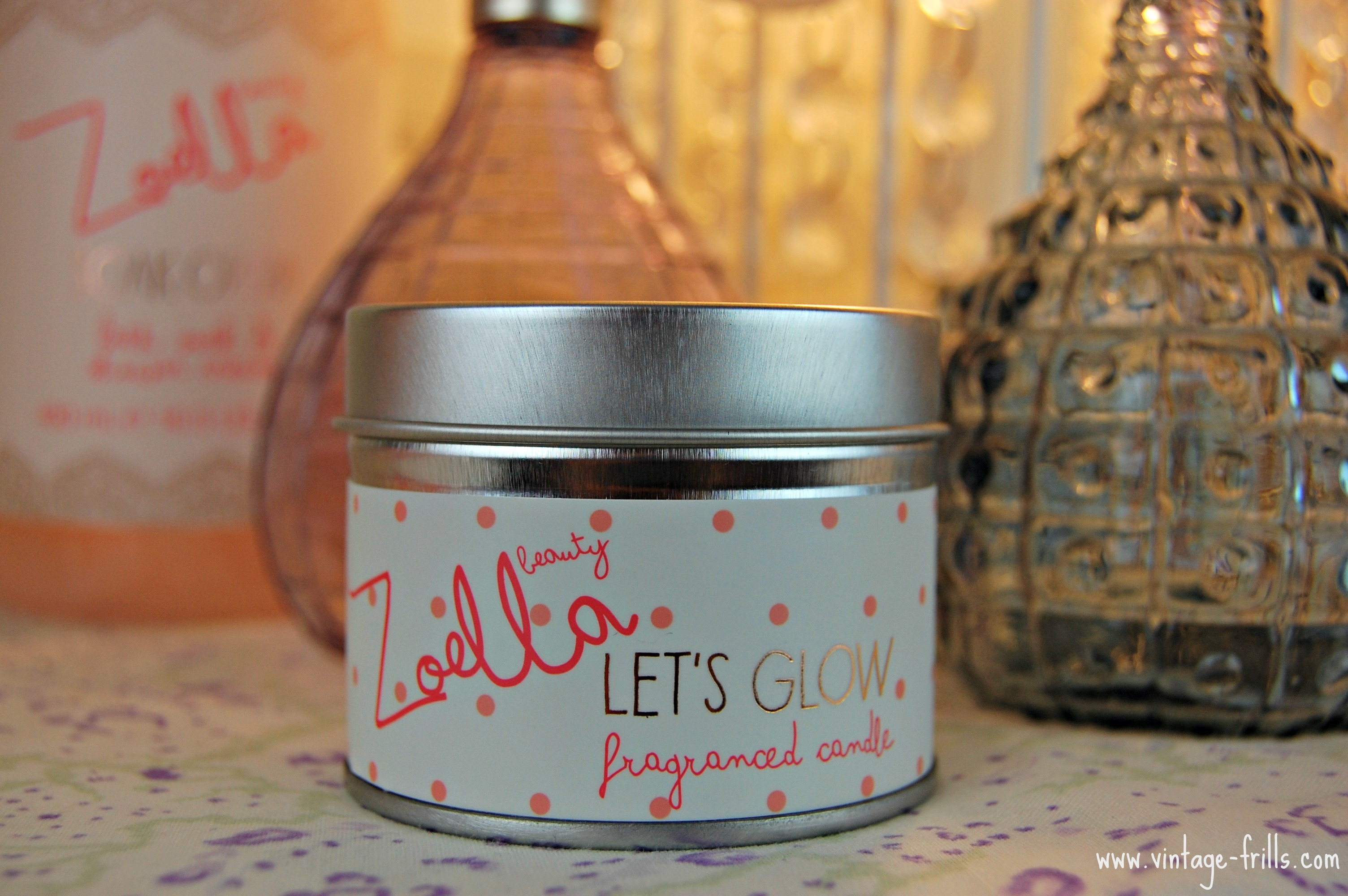 Zoella, Zoella Beauty, Candle, Let's Glow