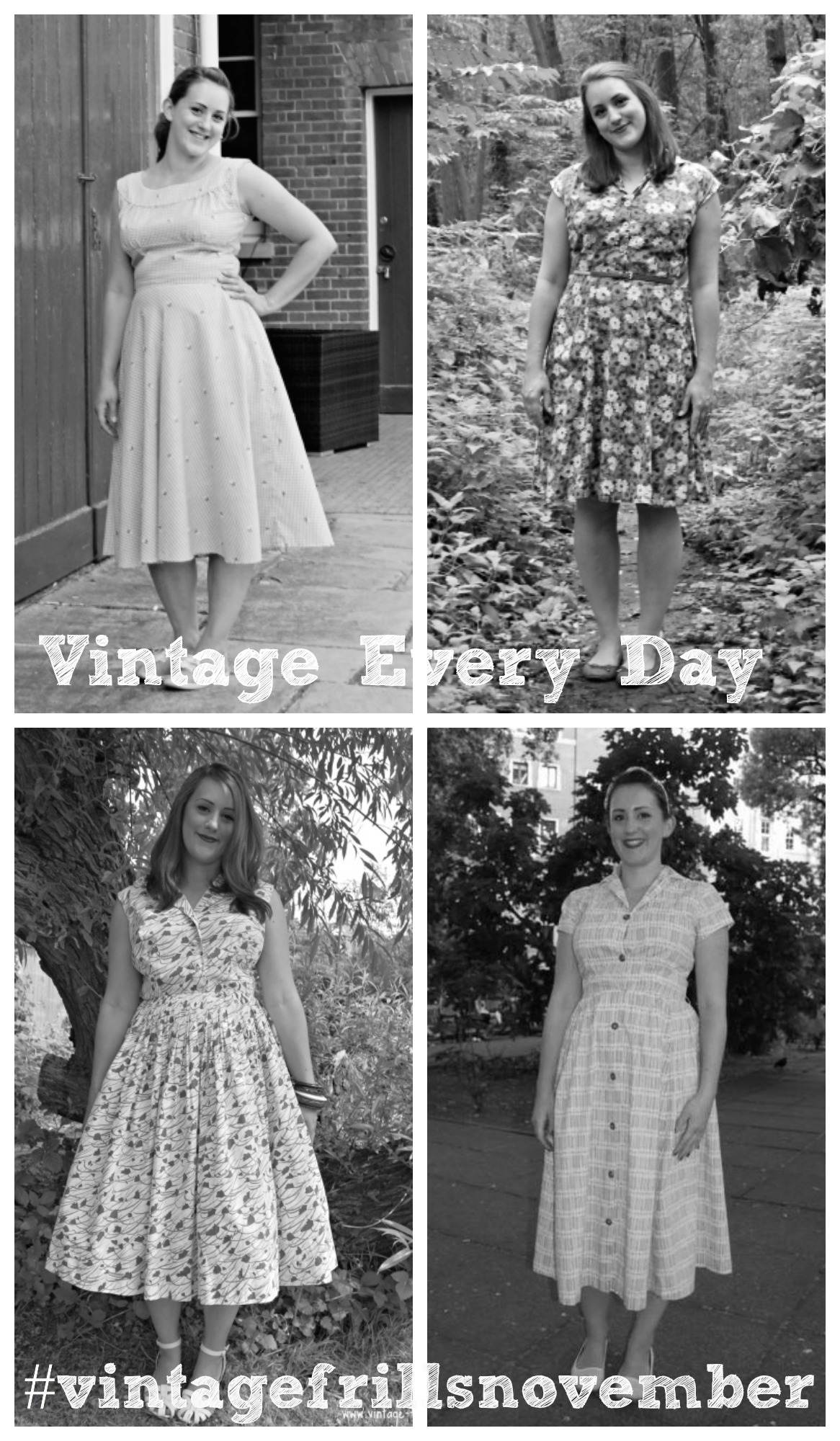 Vintage Every Day in November