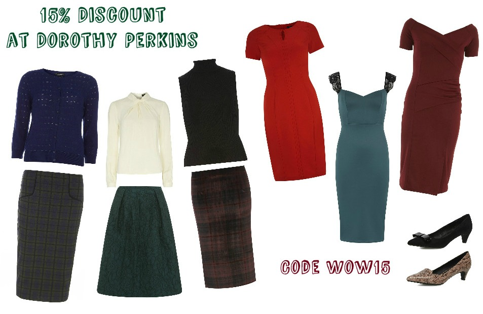 15% Discount at Dorothy Perkins