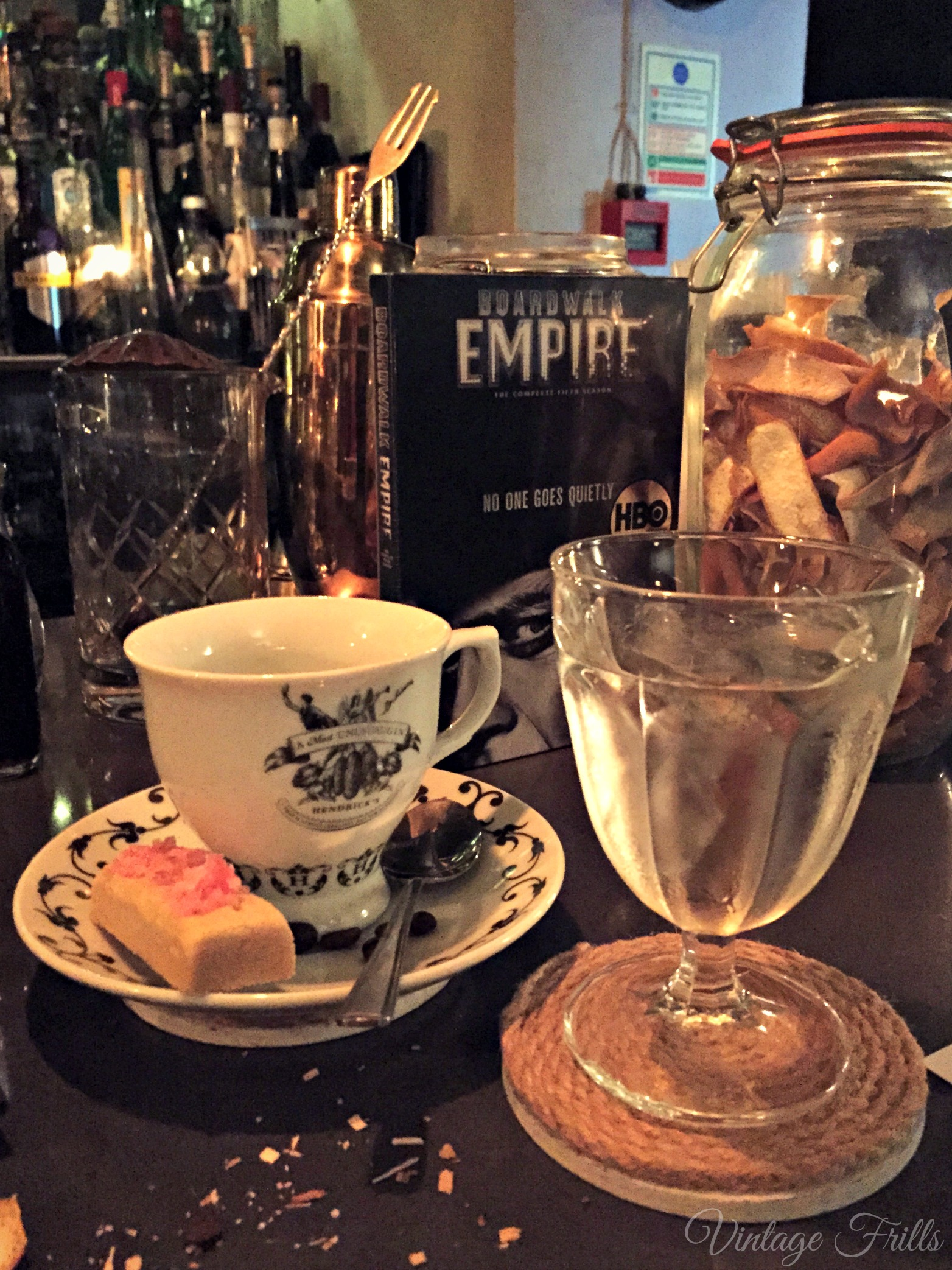 London Speakeasy Mocktails with Boardwalk Empire