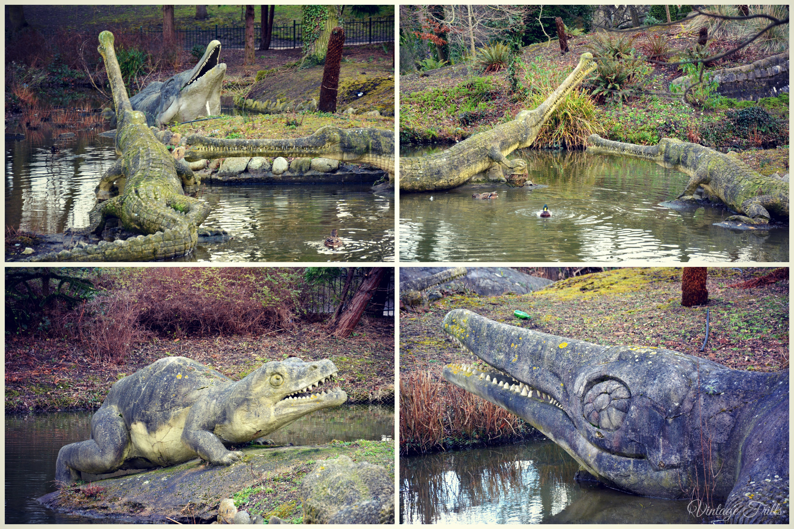 Crystal Palace Park Water Dinosaurs