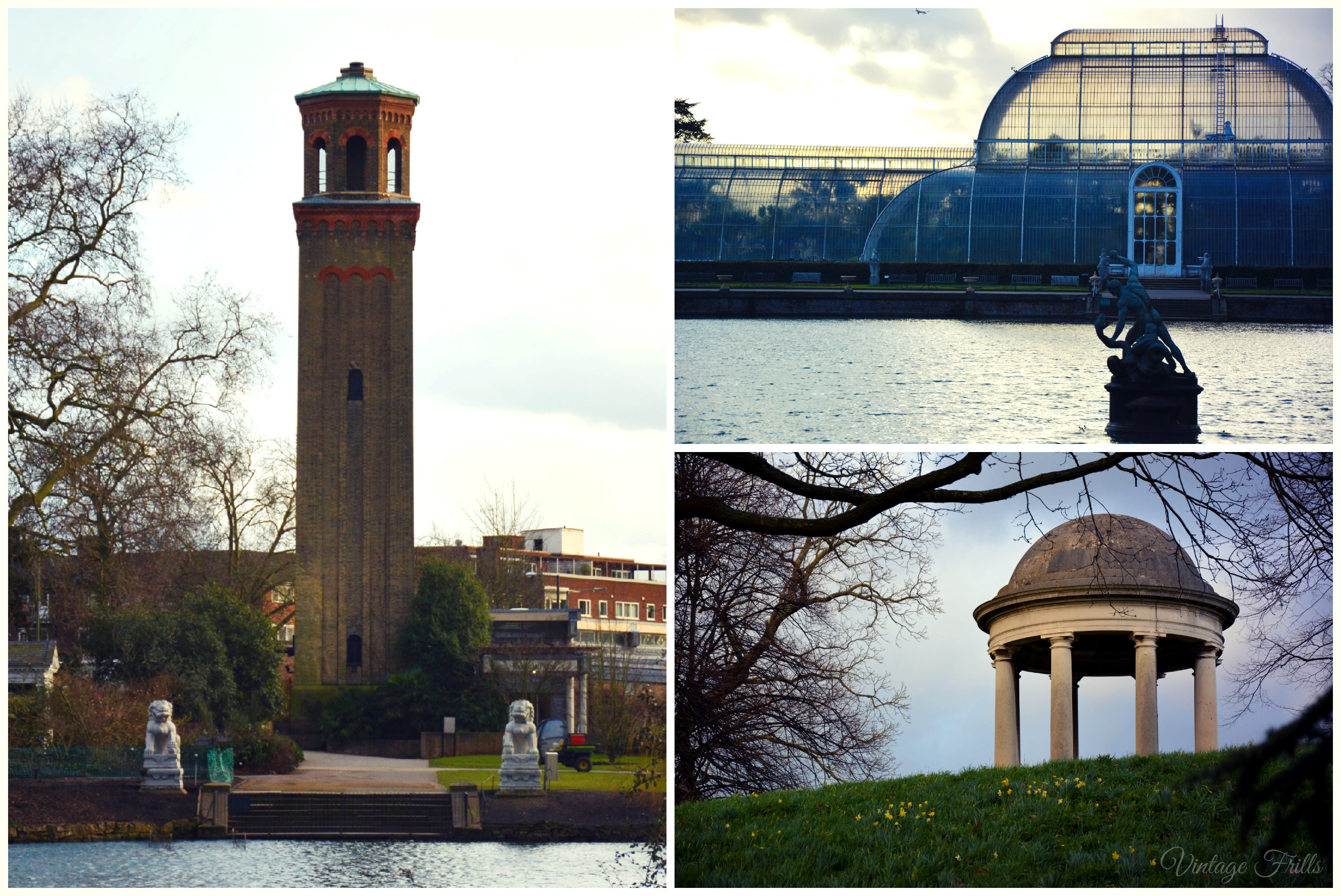 Kew Gardens Tower and Palm House