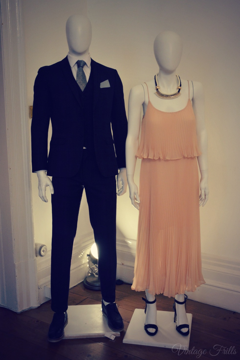 Matalan SS15 Press Day Peach Evening Dress
