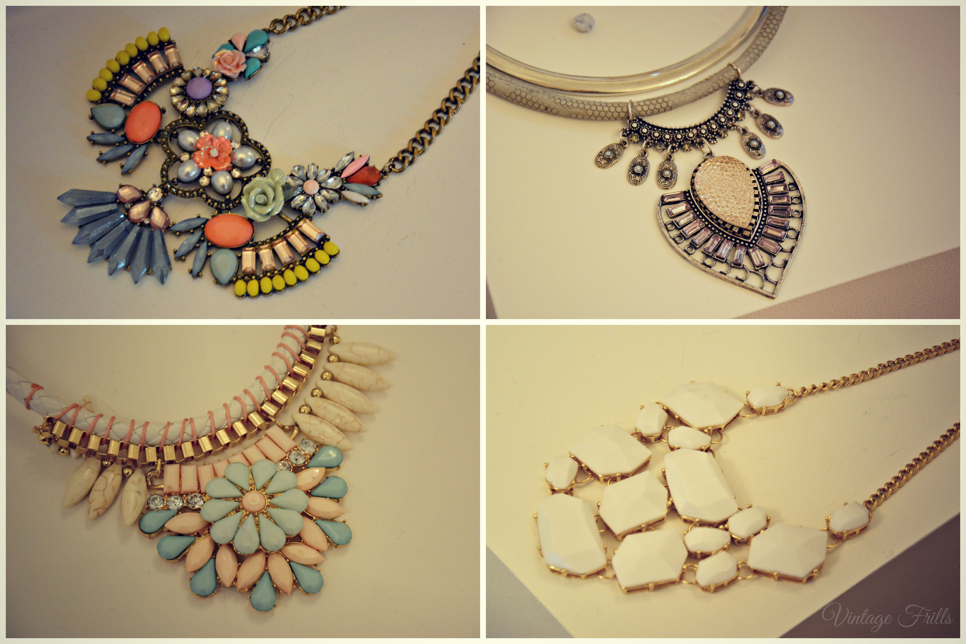 Matalan SS15 Press Day Statement Necklaces