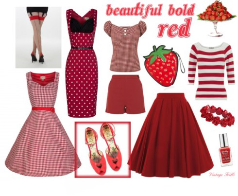 My Red Reproduction Vintage Wishlist