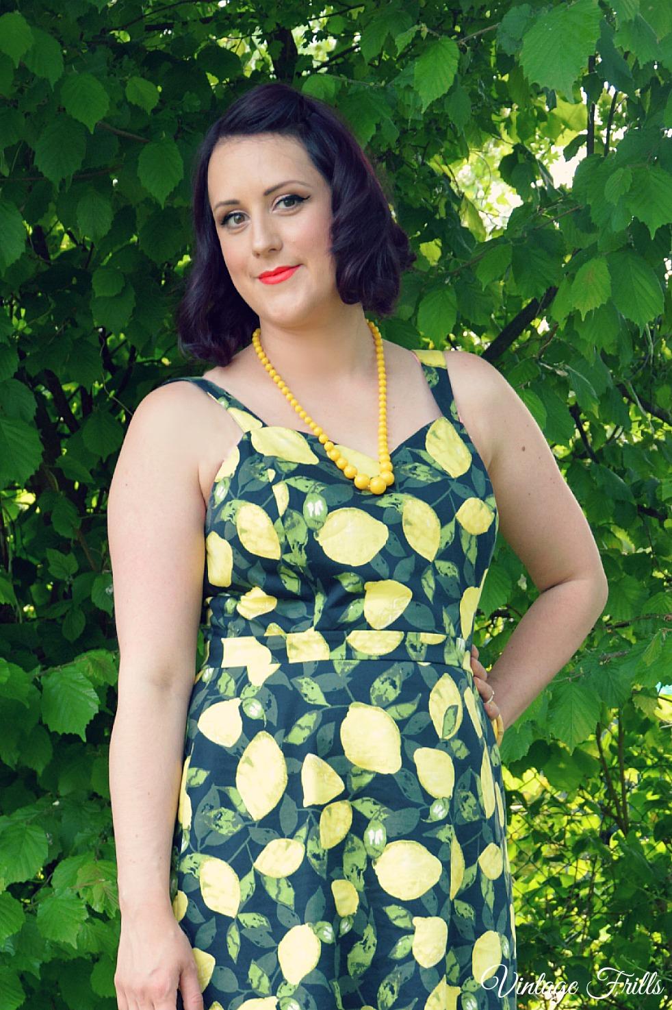 Asda George Lemon Print Dress Review