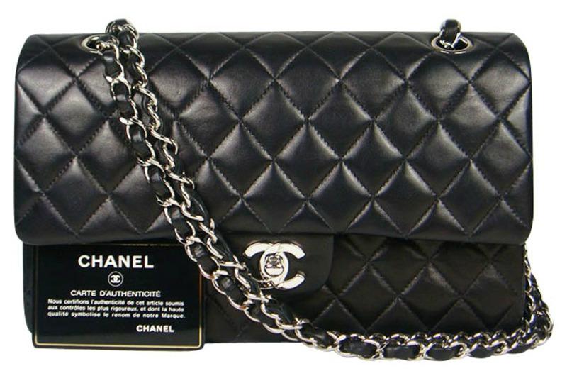 Chanel 2.55 Black Handbag