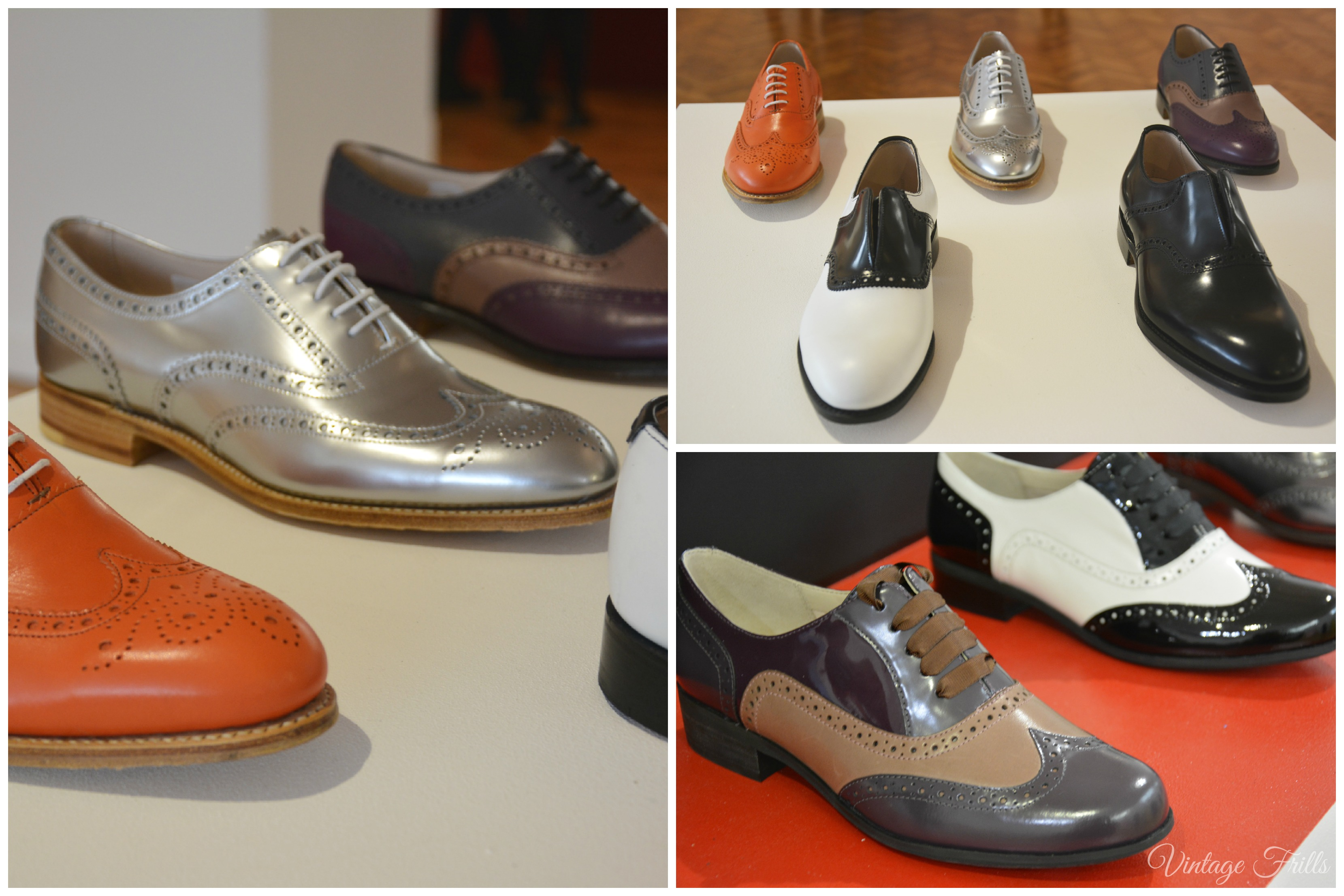 Clarks AW15 Press Day Brogues