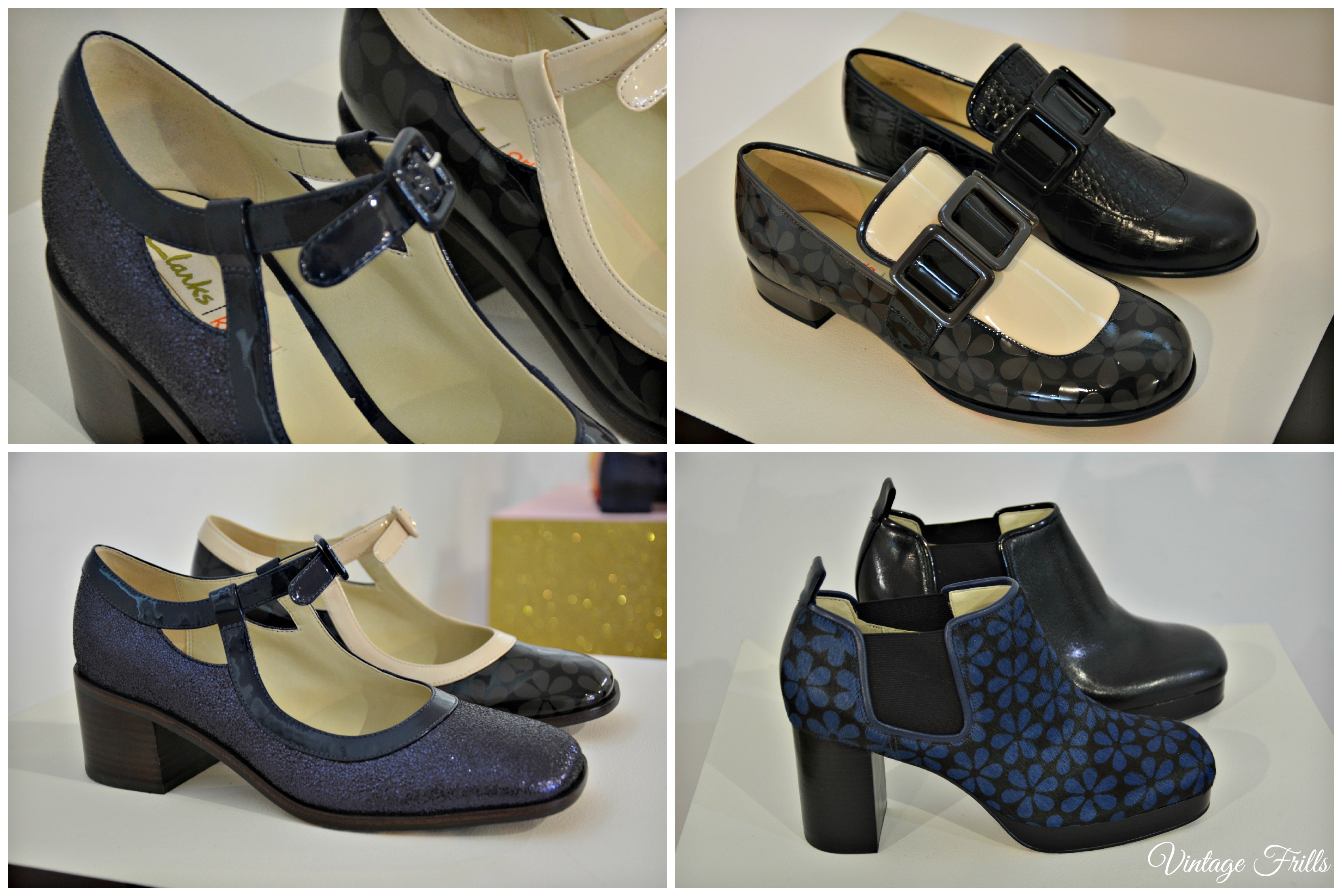 Clarks AW15 Press Day Orla Kiely Amelia, Alice and Audrey ...