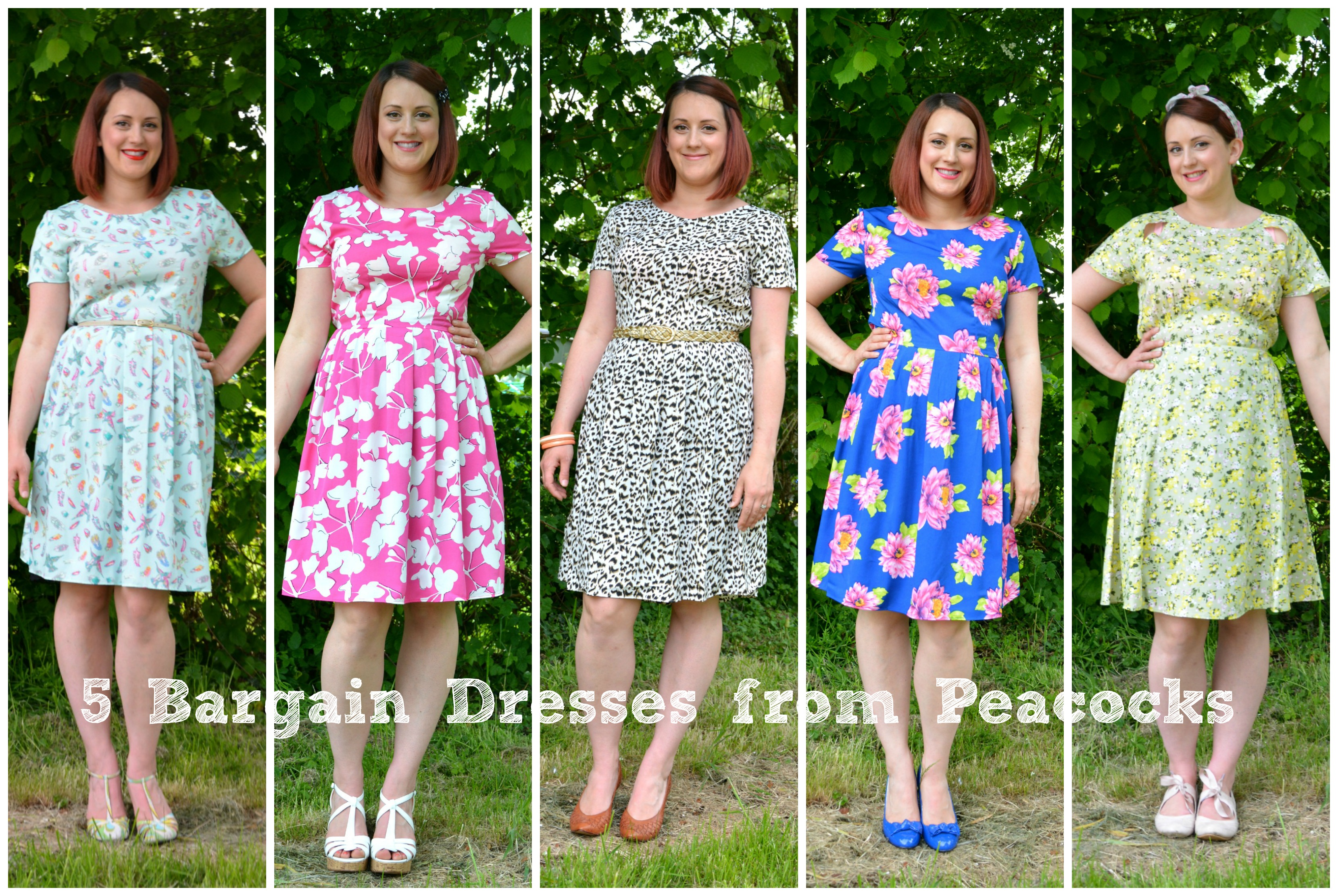 5 Bargain Dresses From Peacocks