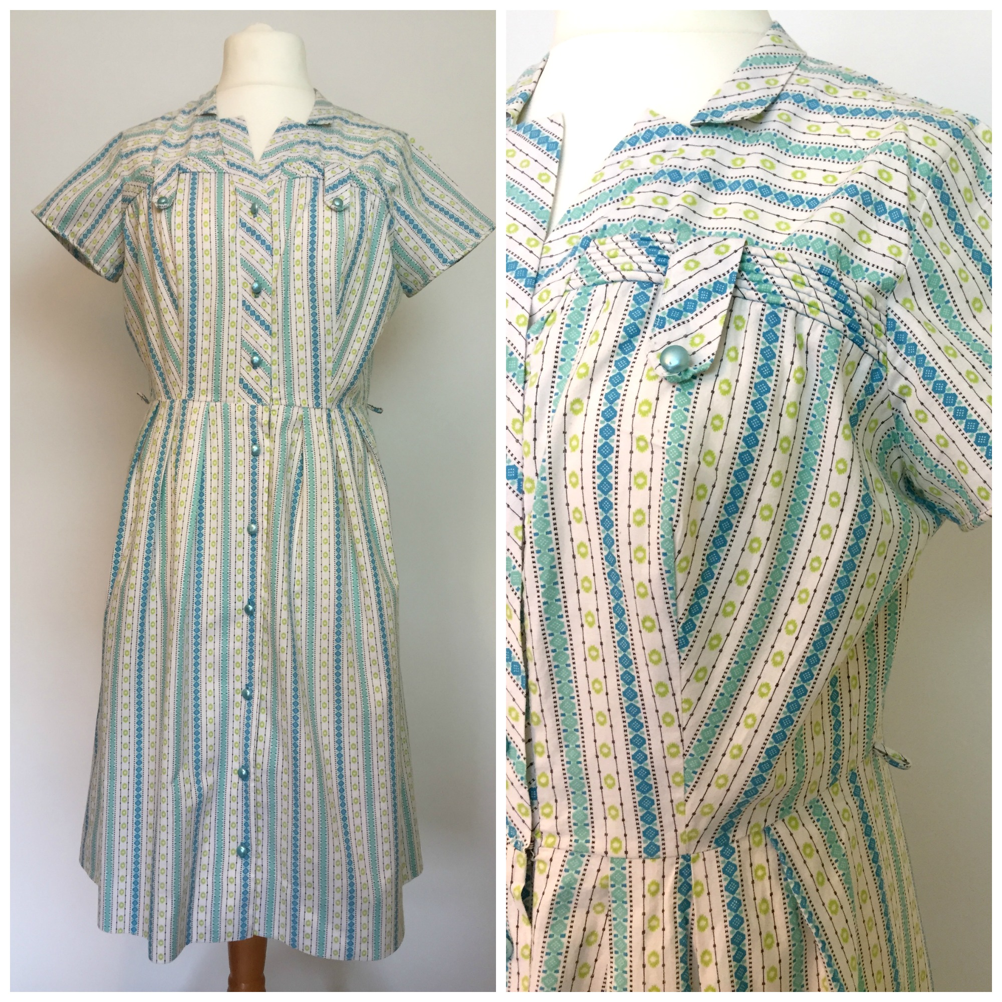 Stripe Vintage Dress