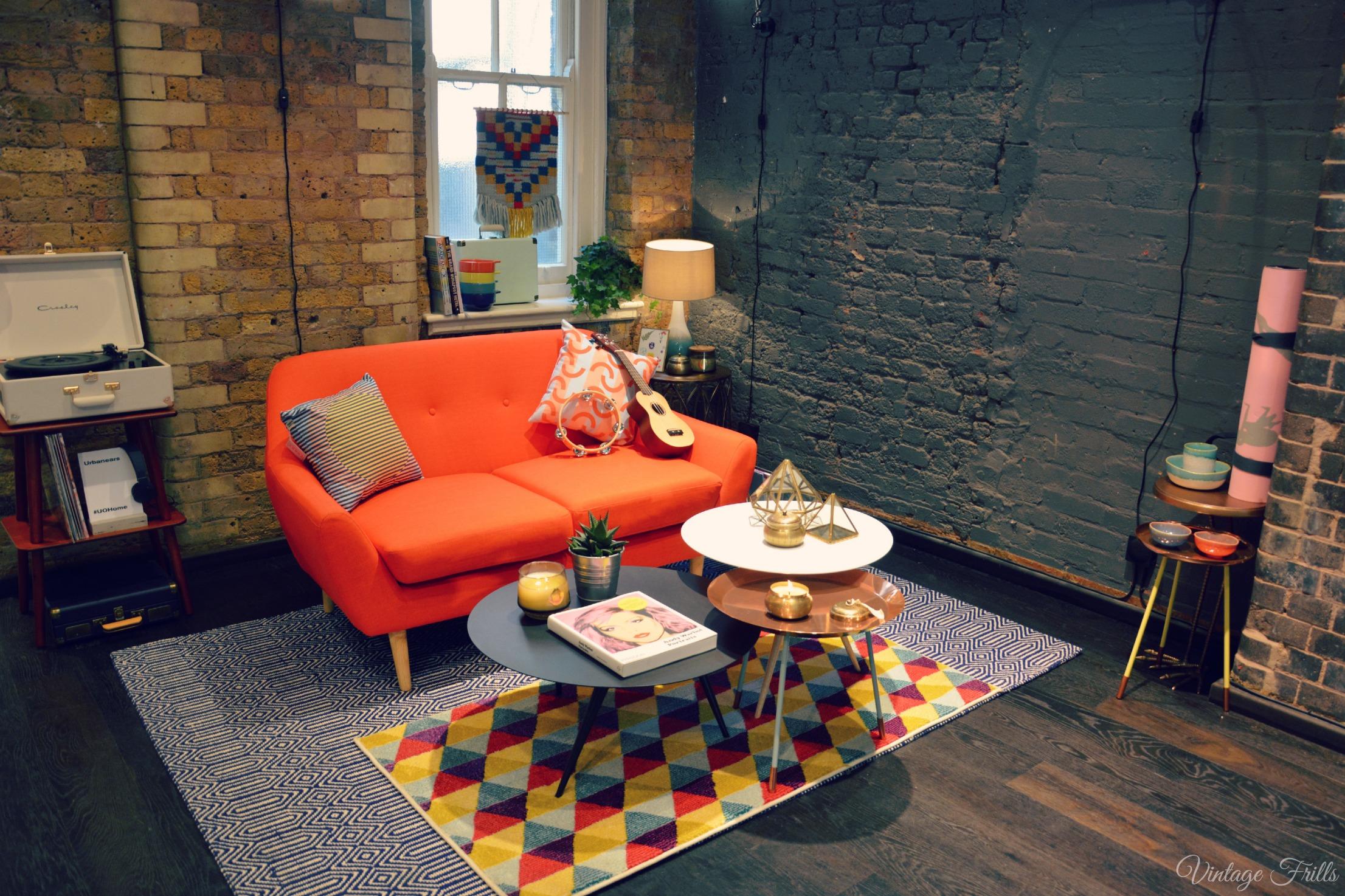 Urban Outfitter Press Day AW15 Retro Sofa
