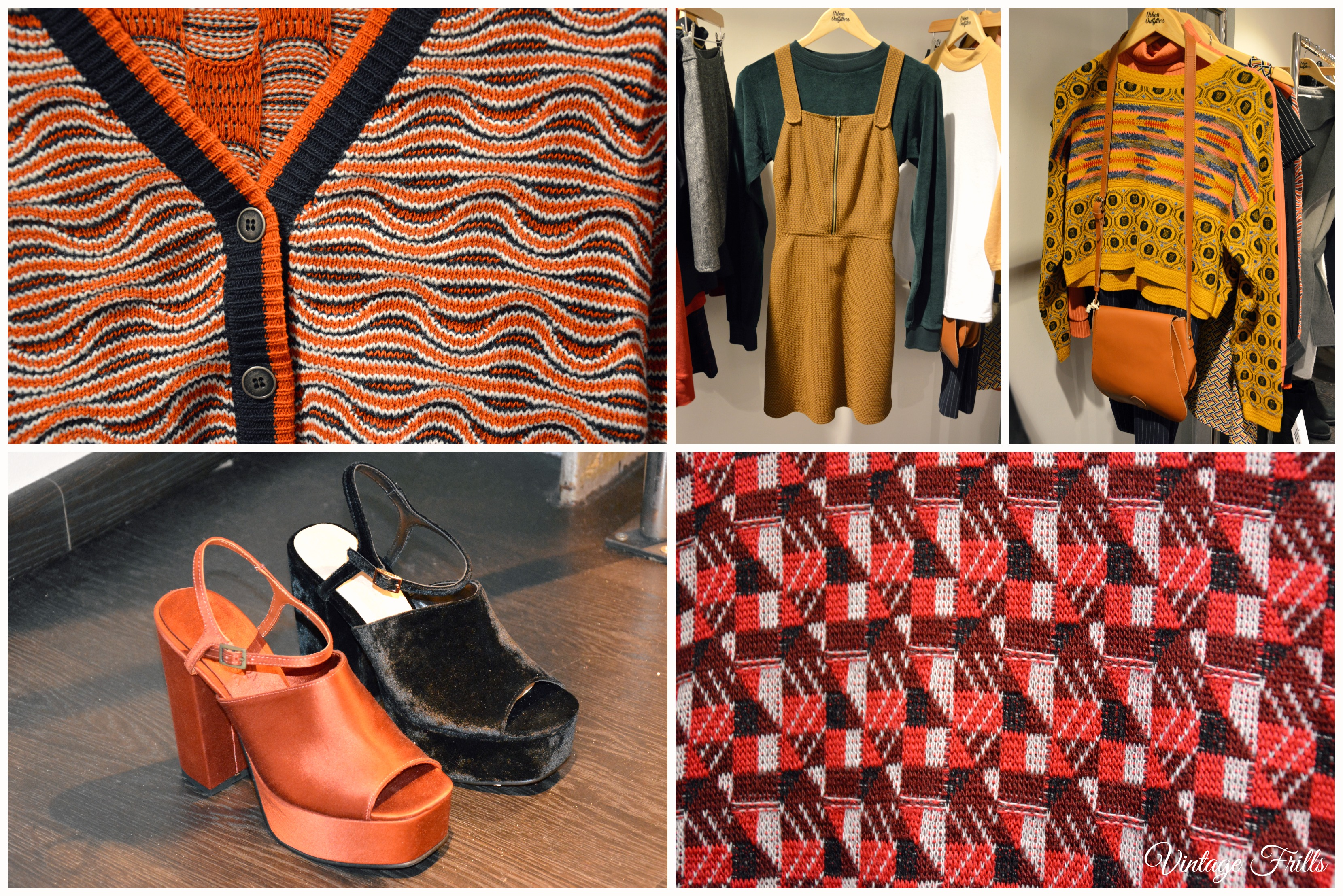 Urban Outfitters AW15 Press Day 70s Knits