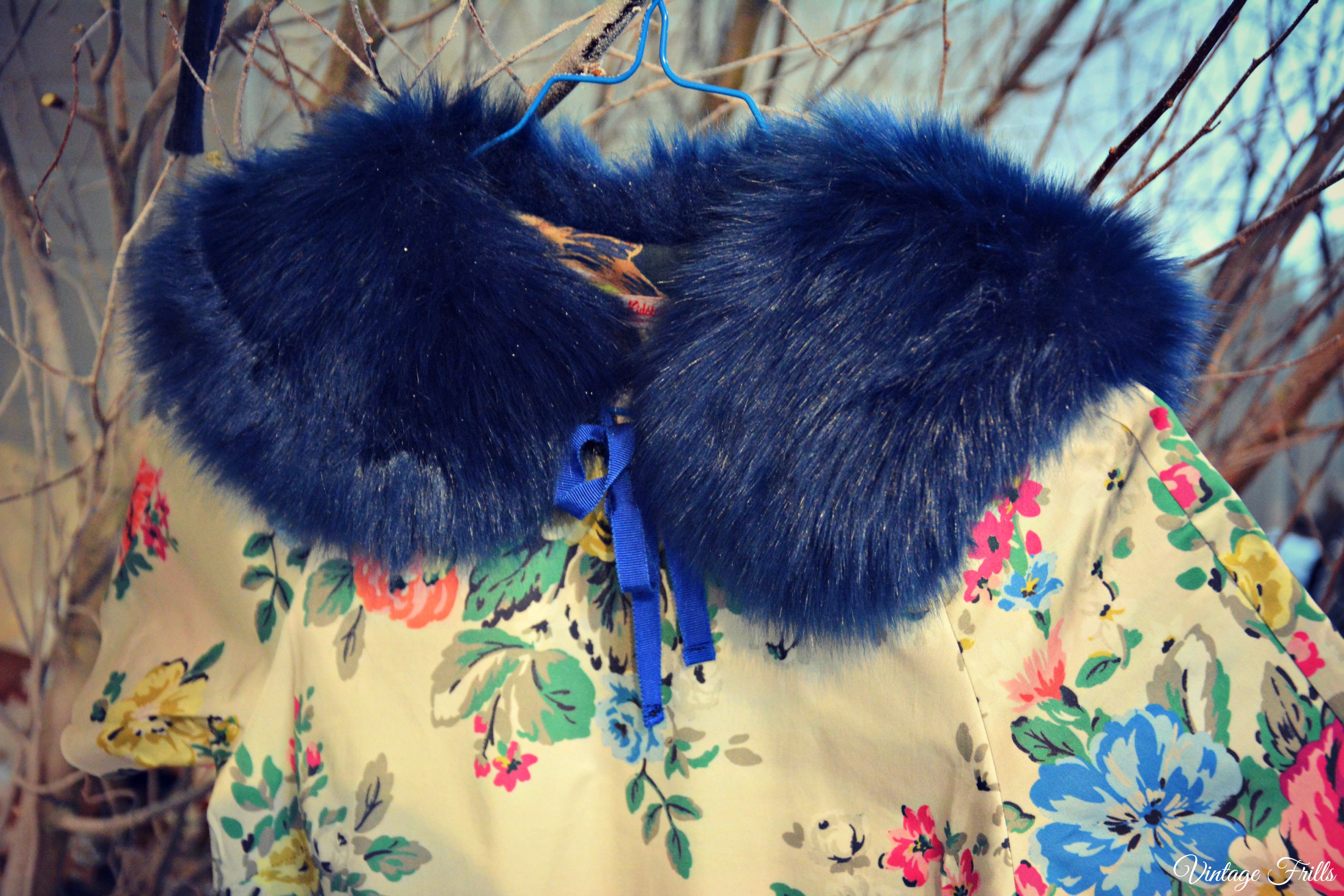 Cath Kidston AW15 Press Day - Blue Fur Collar