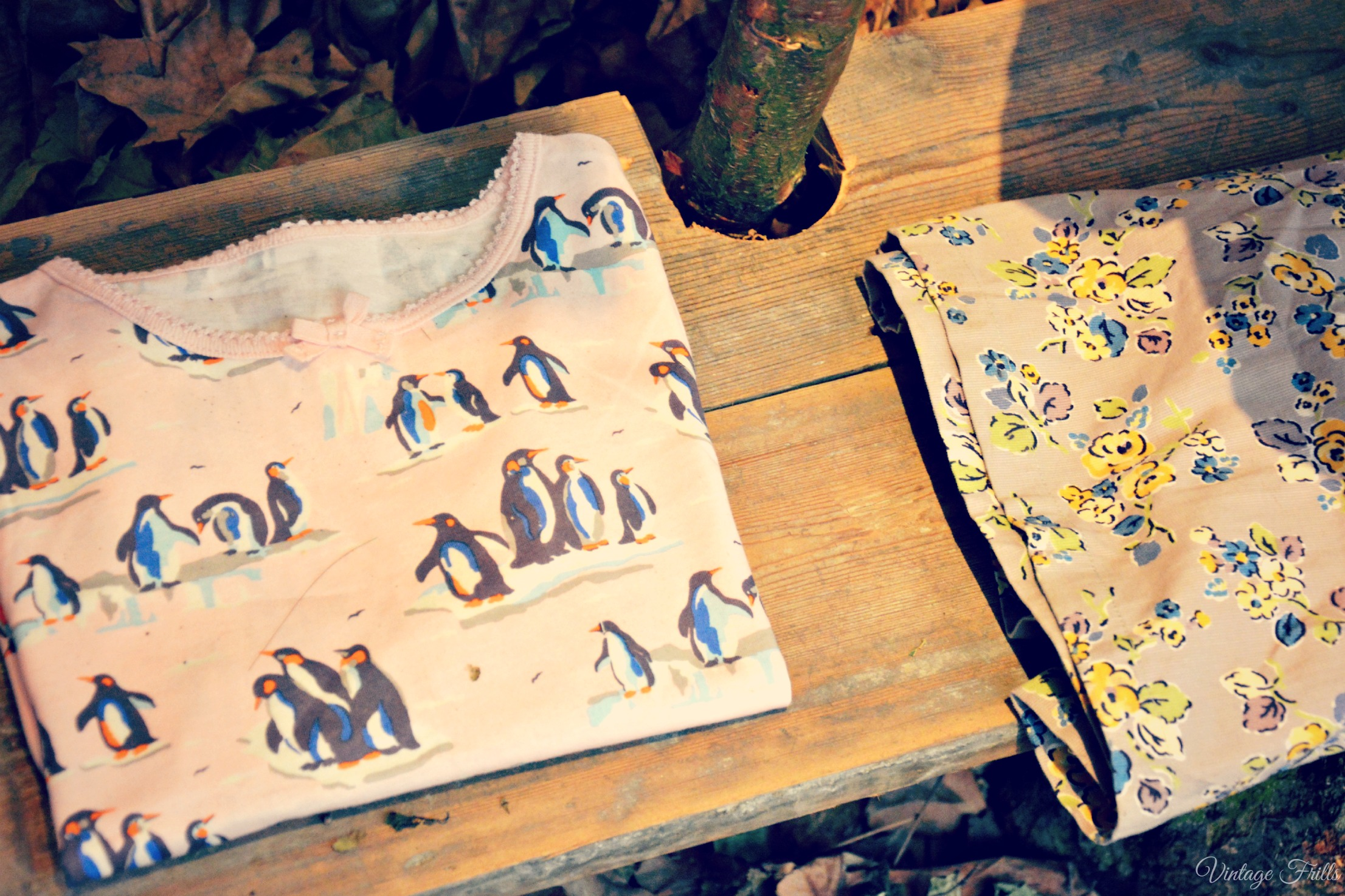 Cath Kidston AW15 Press Day - Kids Penguin T-Shirt