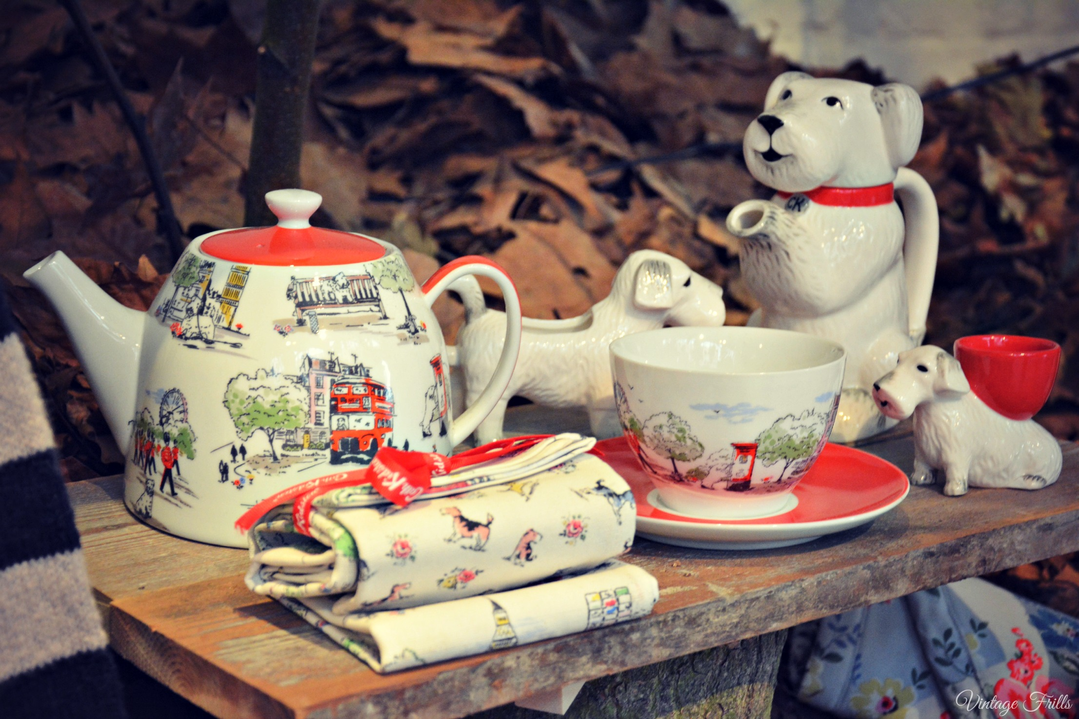 Cath Kidston AW15 Press Day - London Teapot