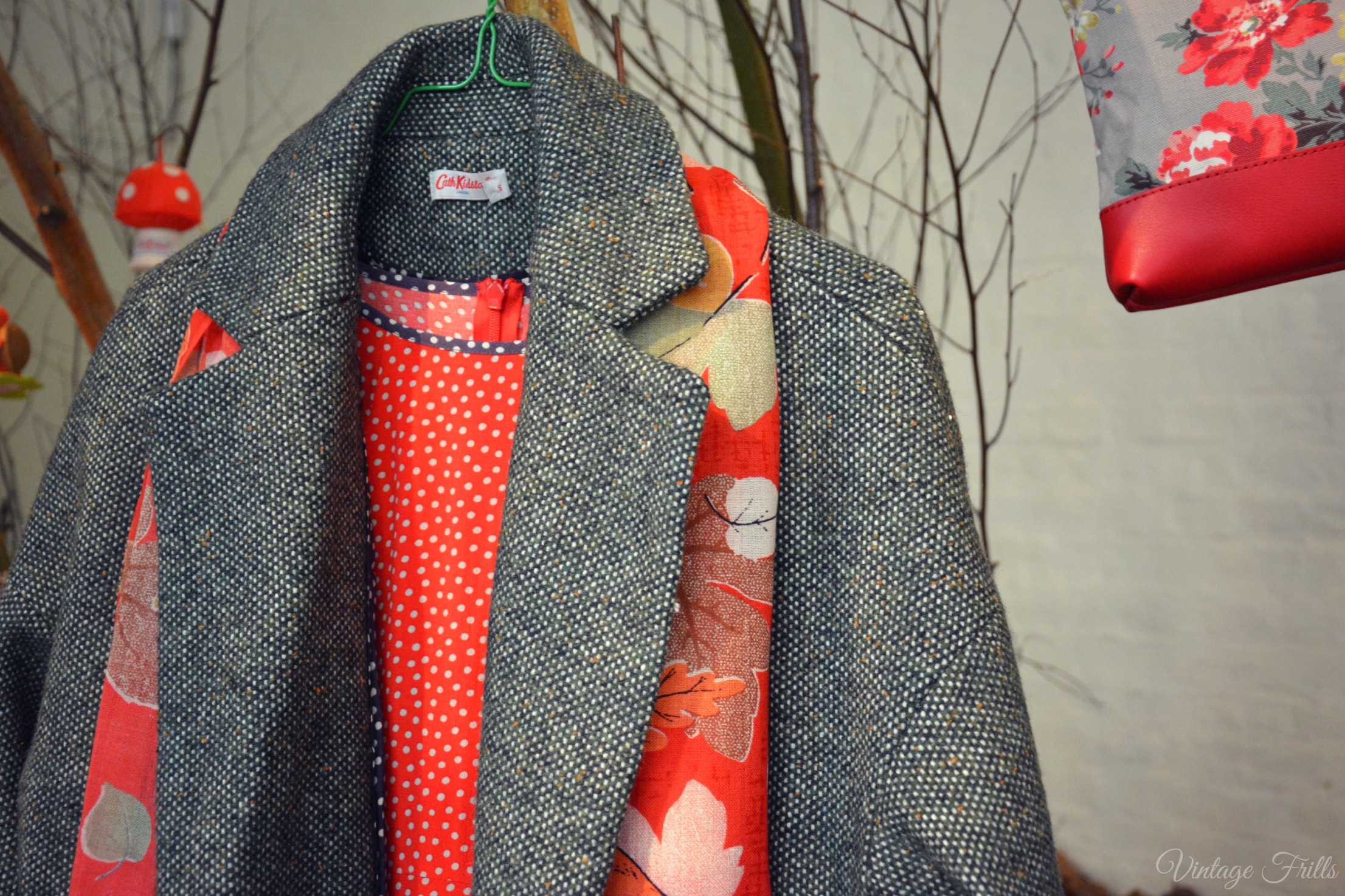 Cath Kidston AW15 Press Day Tweed Coat