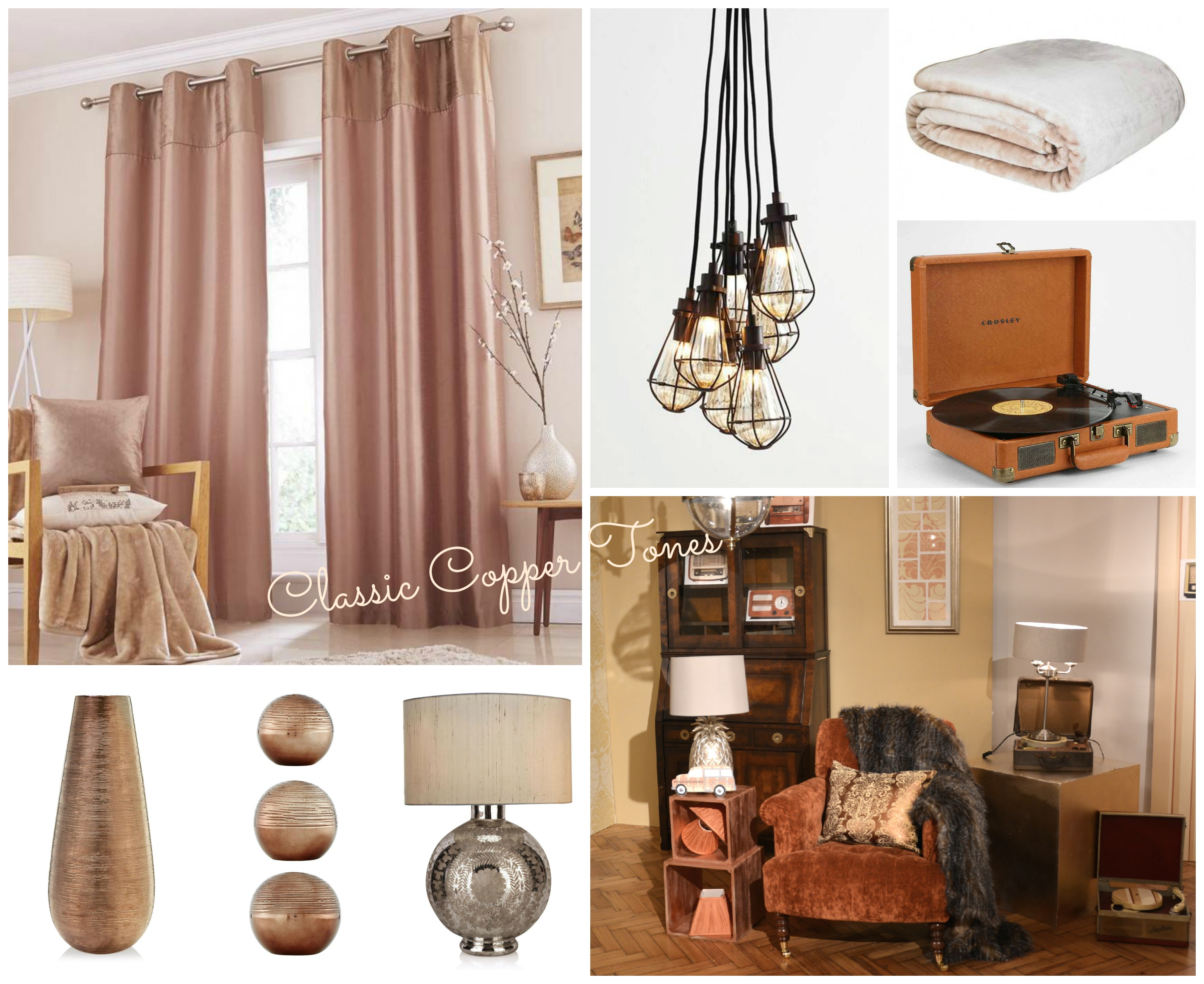 Copper home wishlist