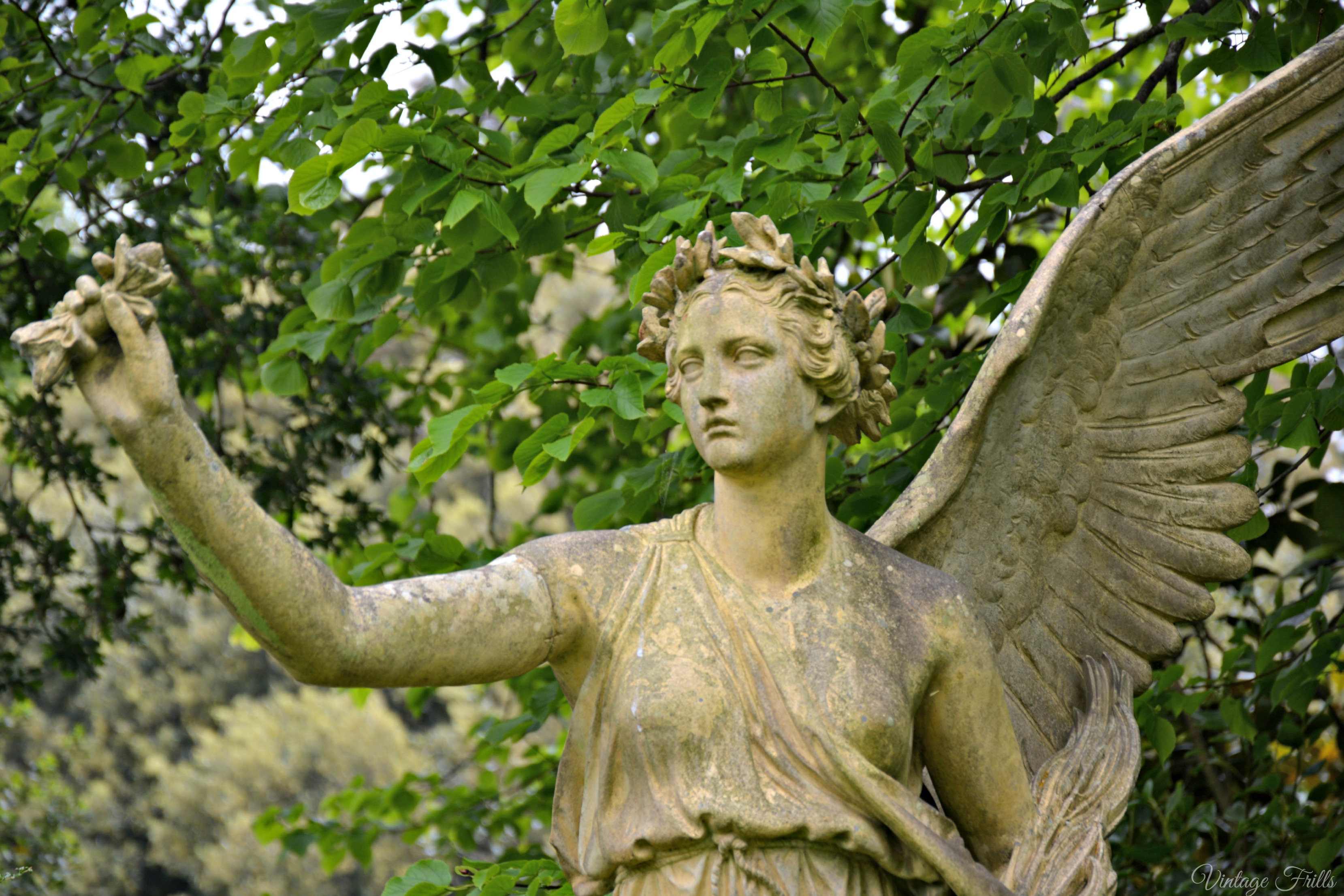 Osbourne House Angel Statue