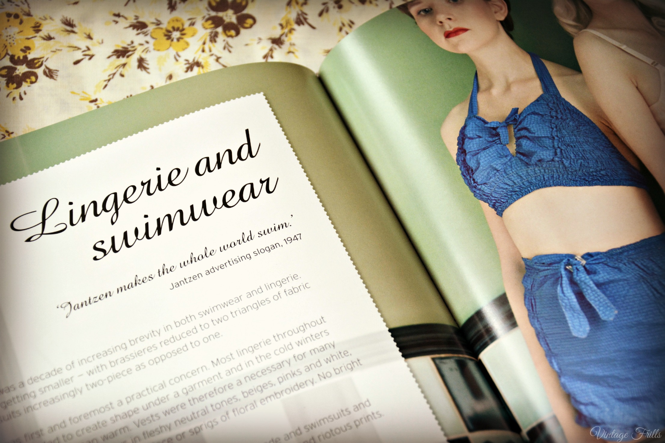 Style me vintage lingerie and swimwear