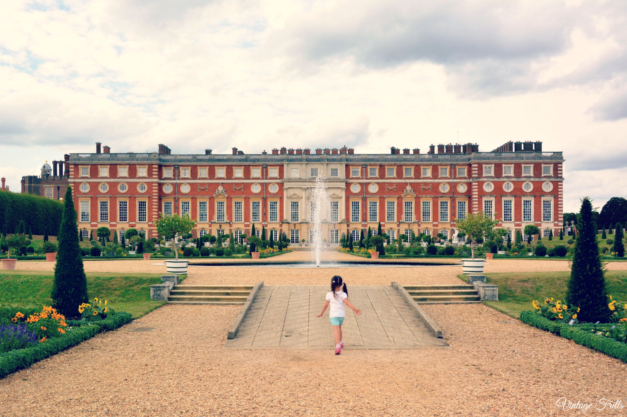 Hampton Court Privy Garden