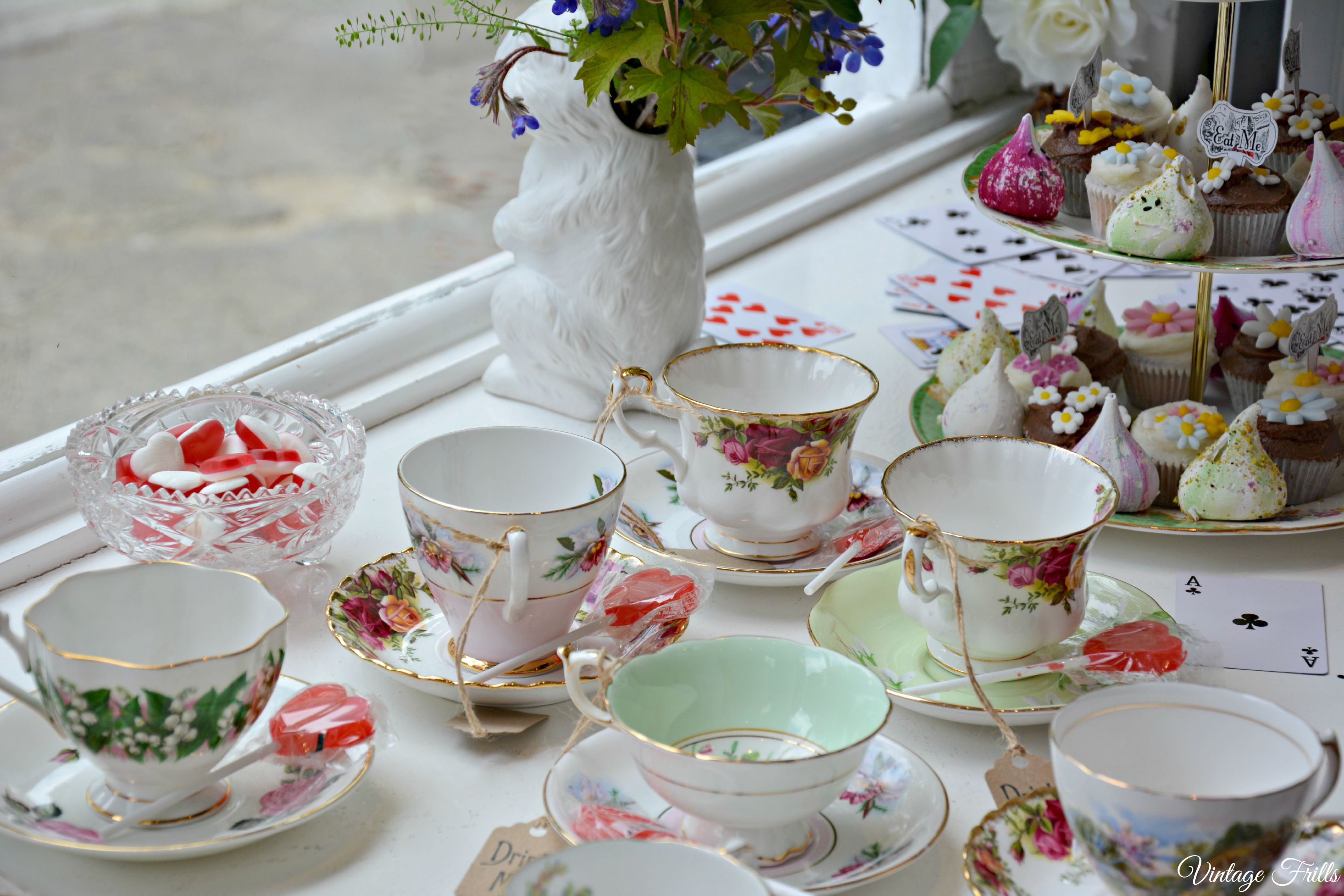 Passionate About Vintage - Teacups