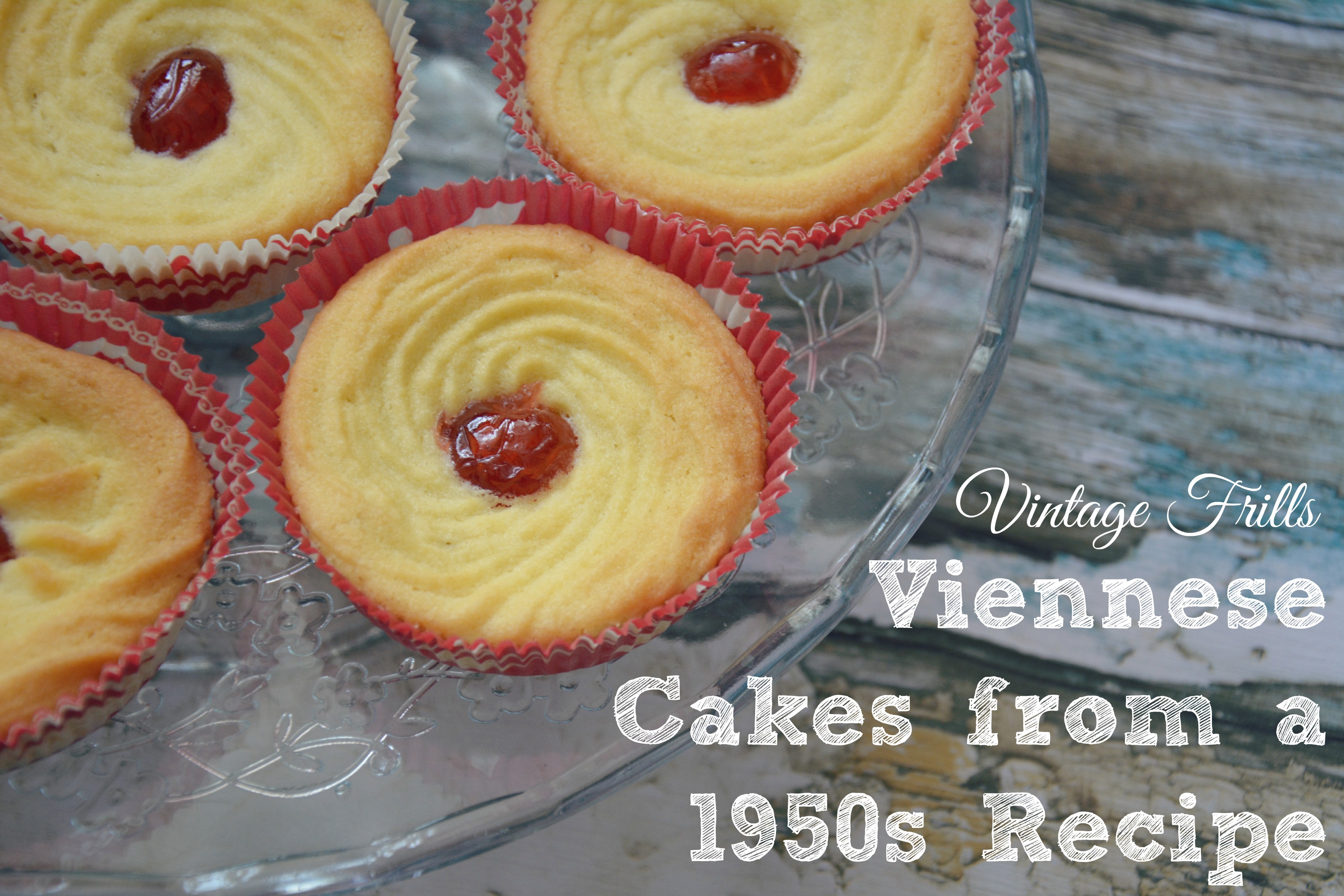 Viennese Cakes from a 1950s Recipe
