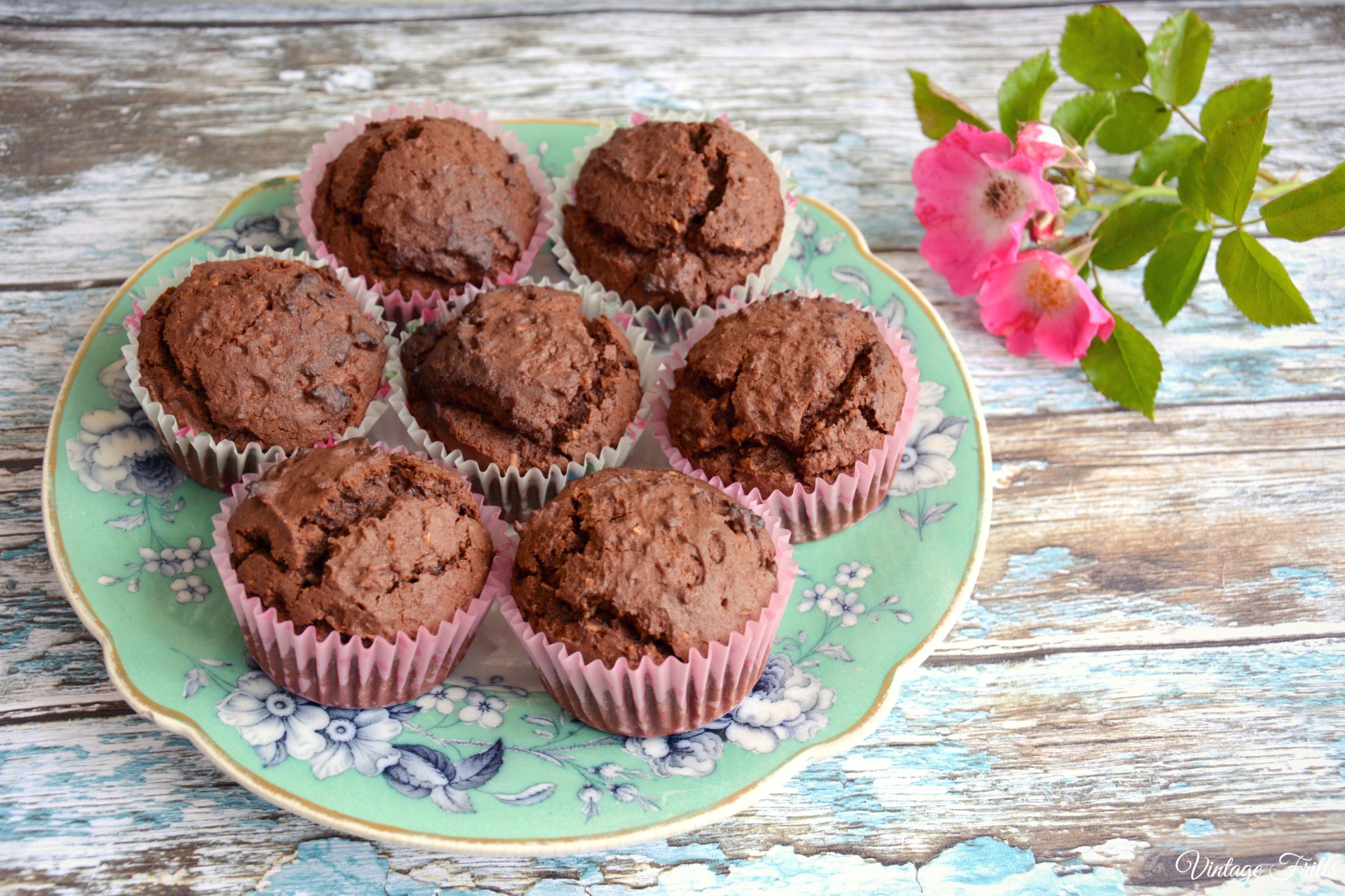 Vintage Chocolate Coconut Cakes