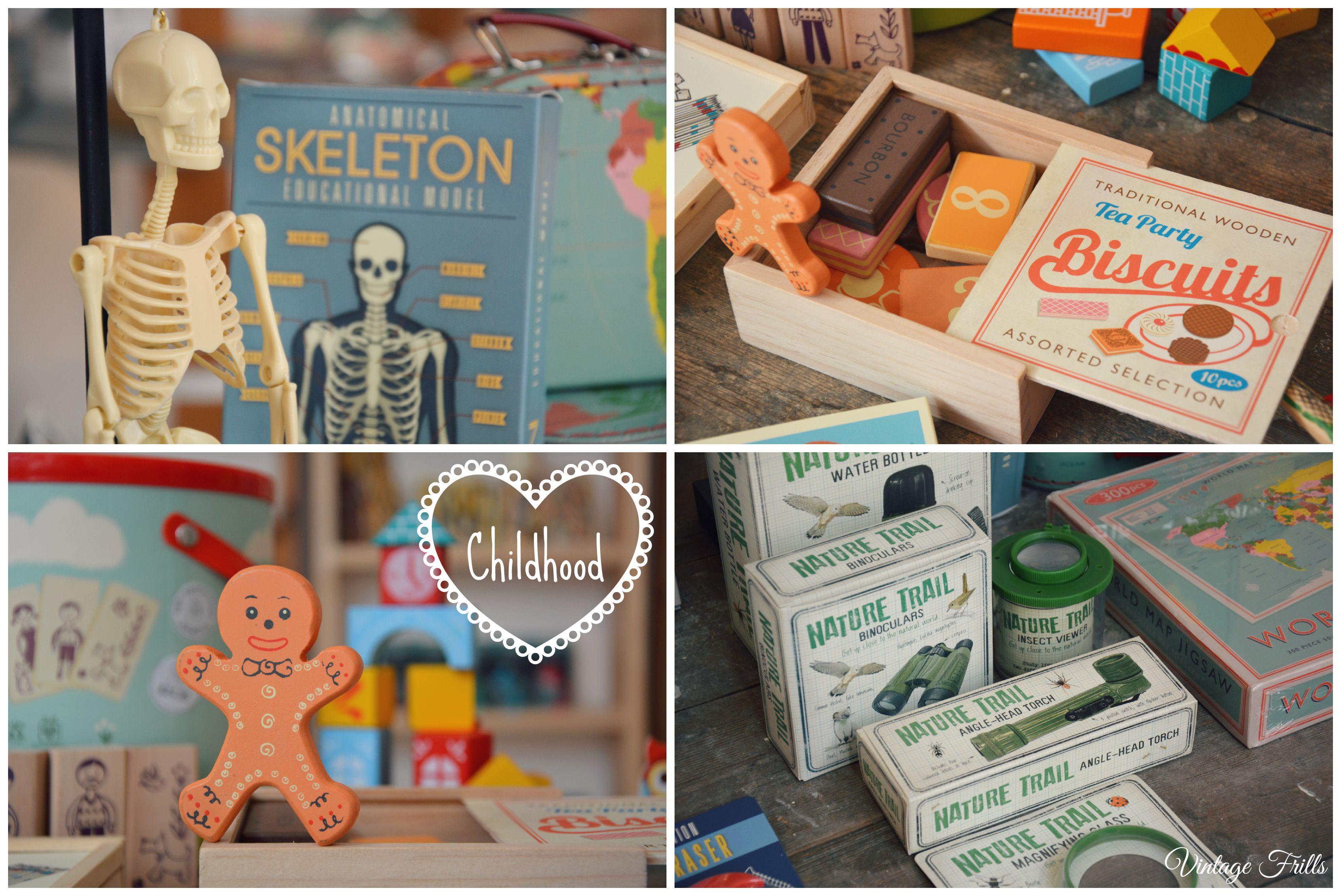 Children's Gifts Dot Com Gift Shop  Vintage Frills