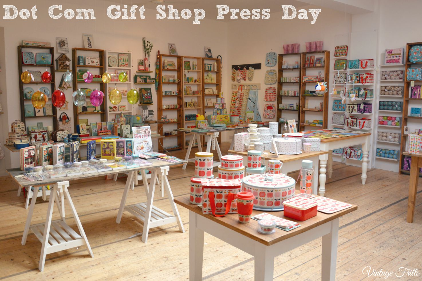 Dot Com Gift Shop Press Day and Christmas Preview