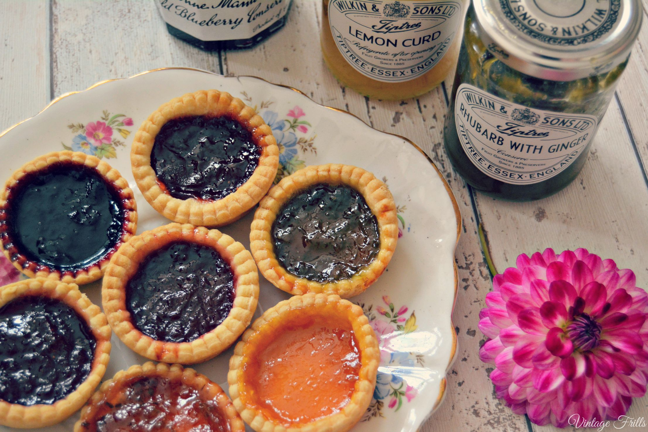 Home Made Jam Tarts  Vintage Frills