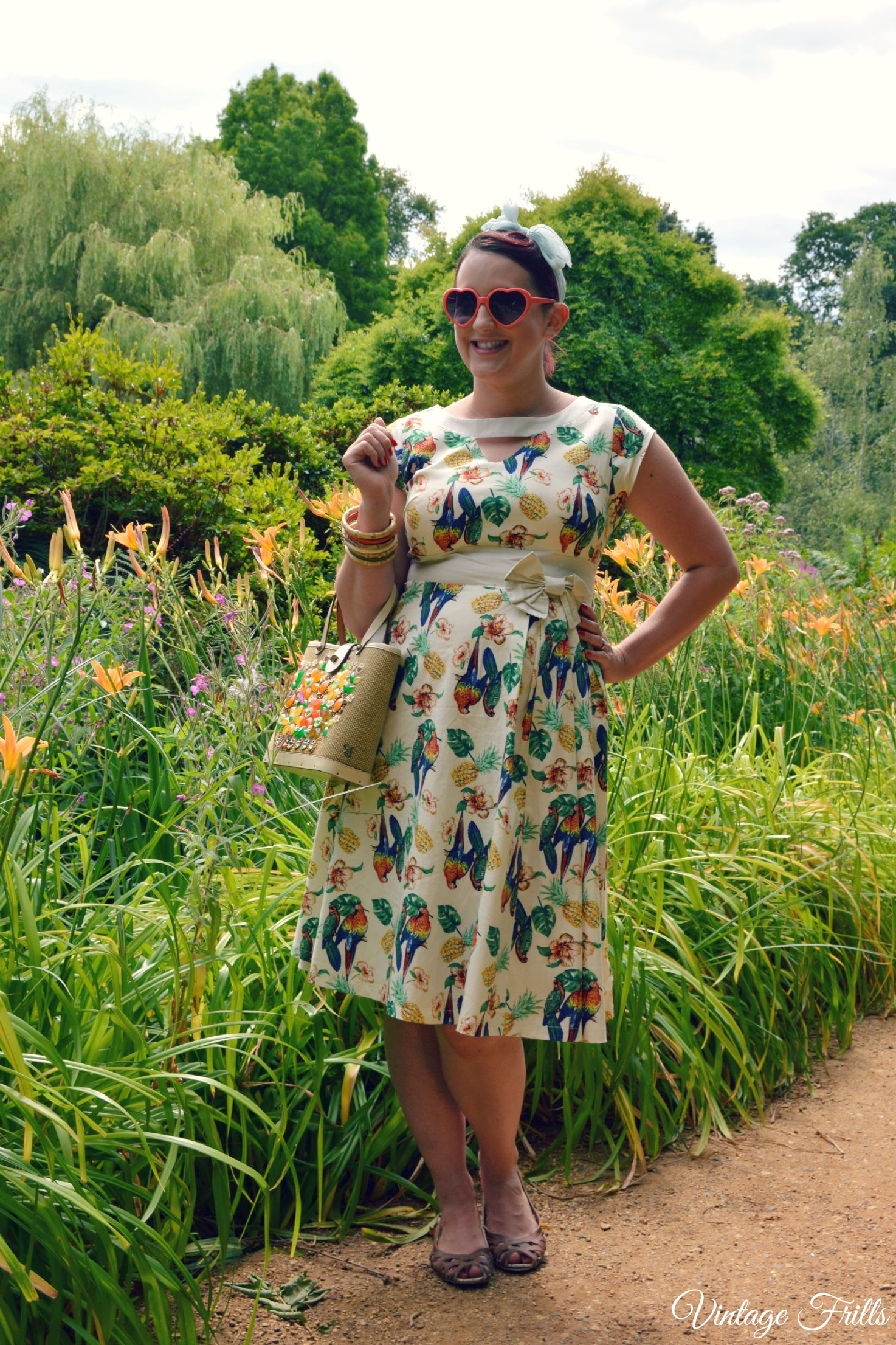 Tropical Lindy Bop Kelly Dress Review