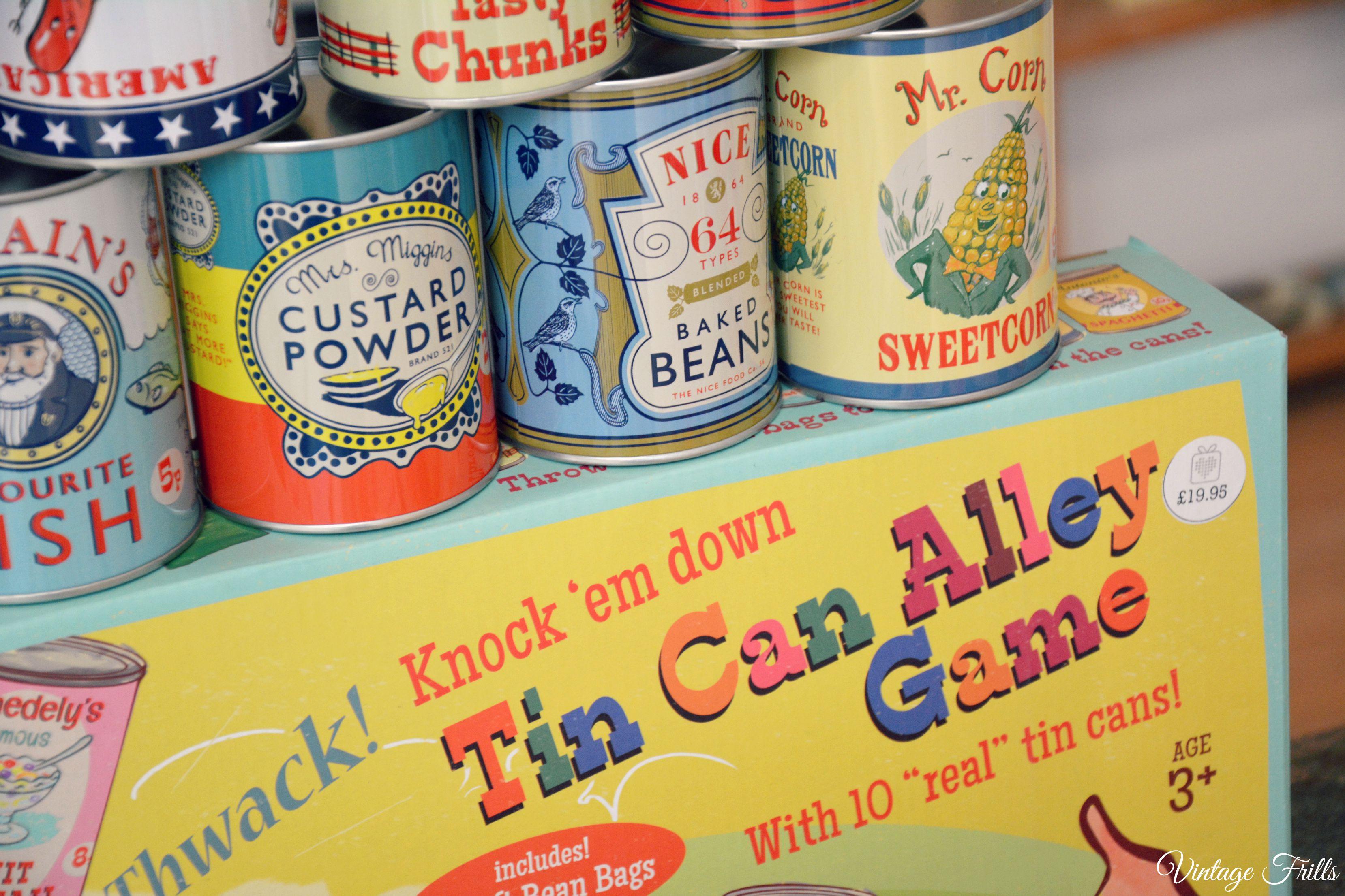 Tin Can Alley Game Dot Com Gift Shop  Vintage Frills