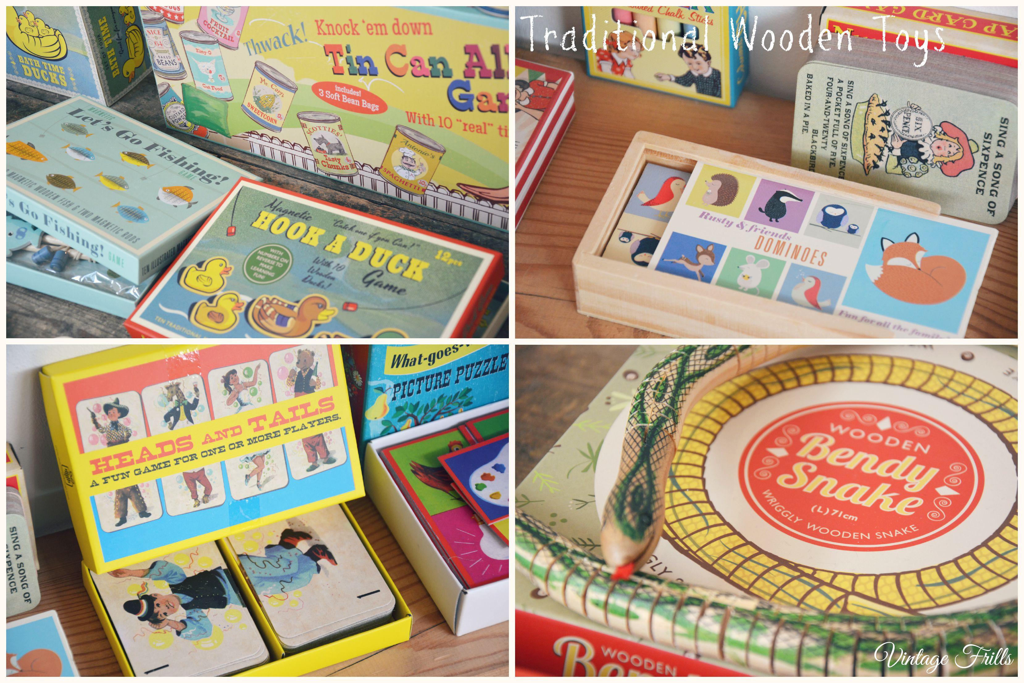 Traditional Wooden Toys Dot Com Gift Shop  Vintage Frills