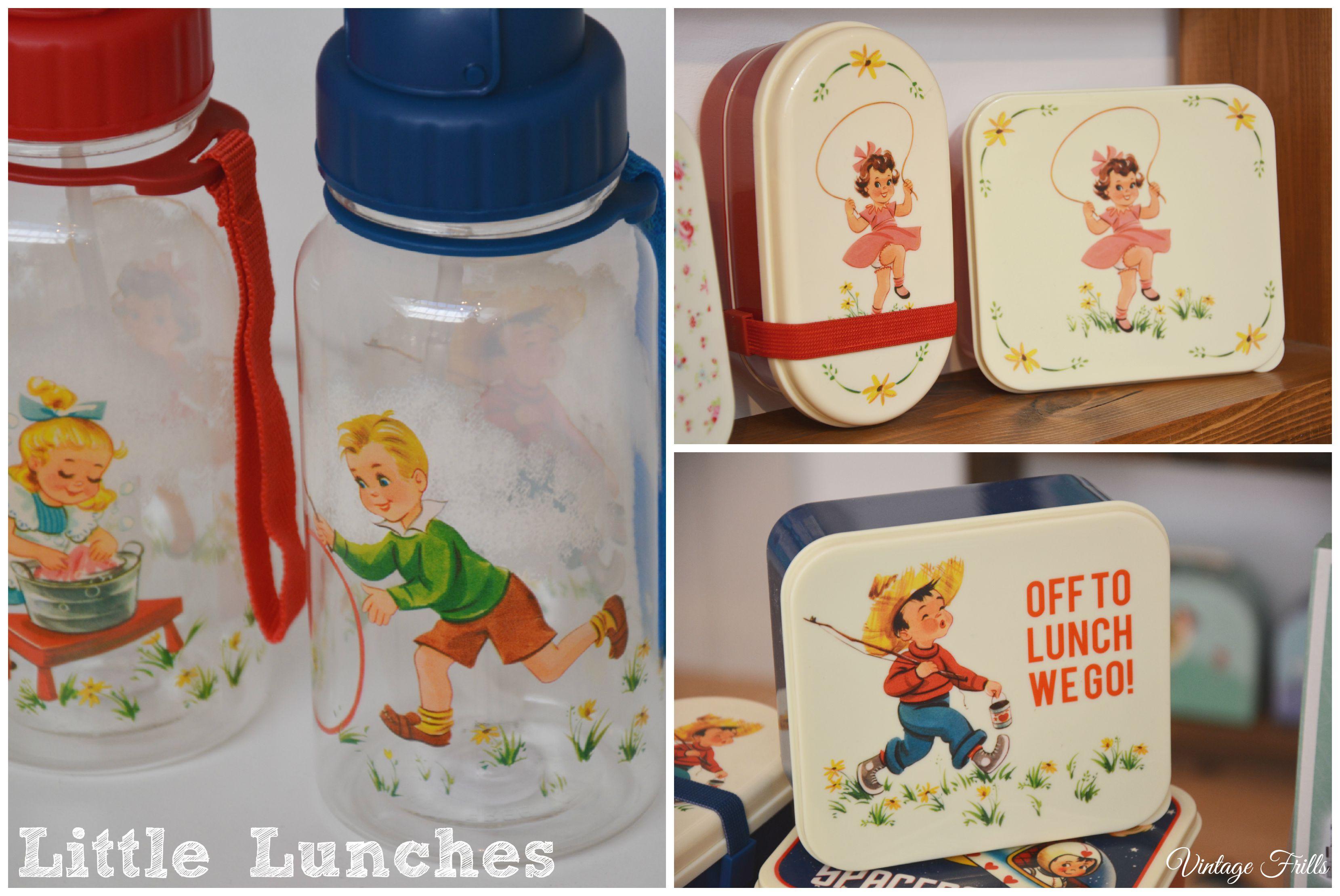 Vintage Style Lunch Boxes Dot Com Gift Shop  Vintage Frills