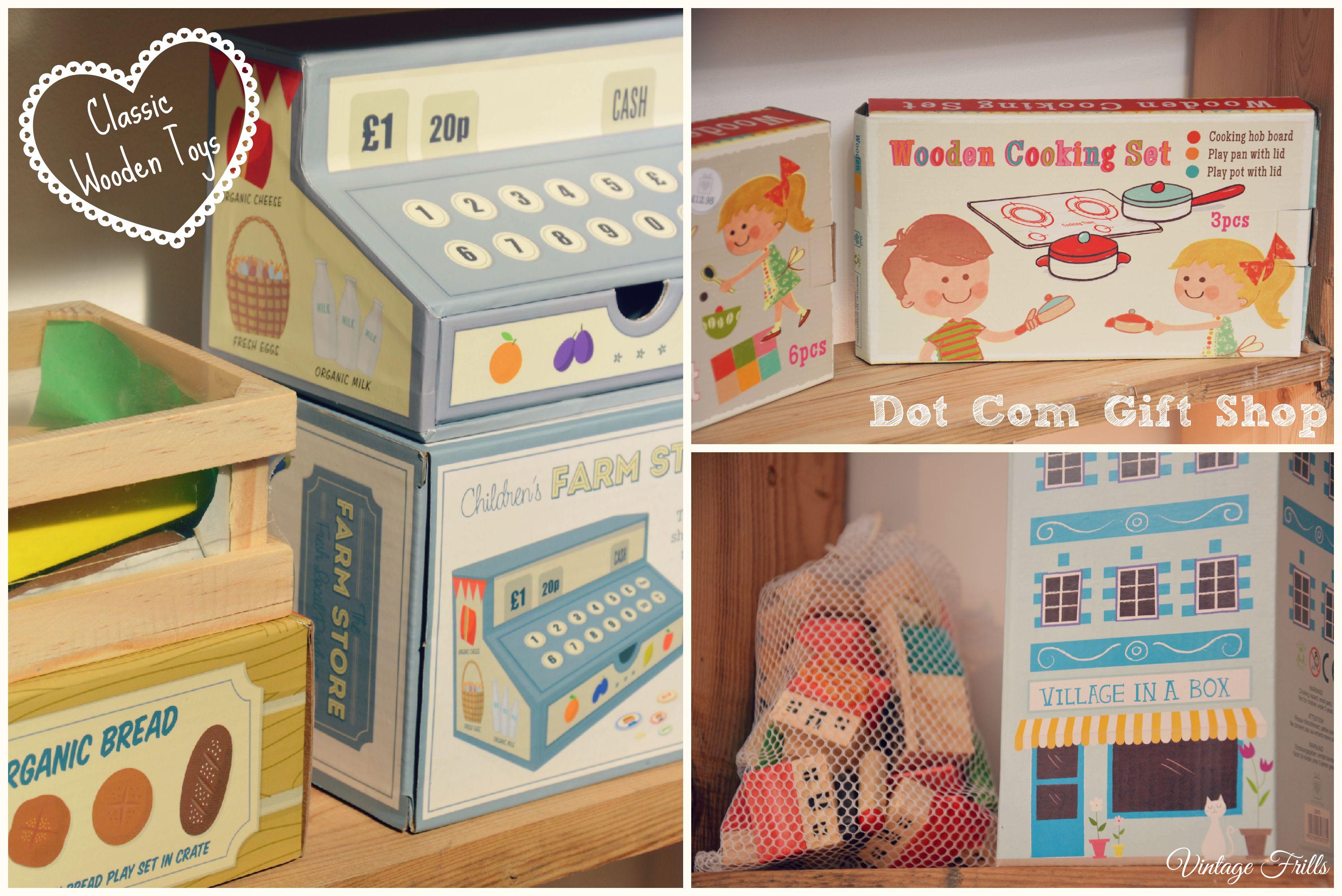 Wooden Toys Dot Com Gift Shop  Vintage Frills