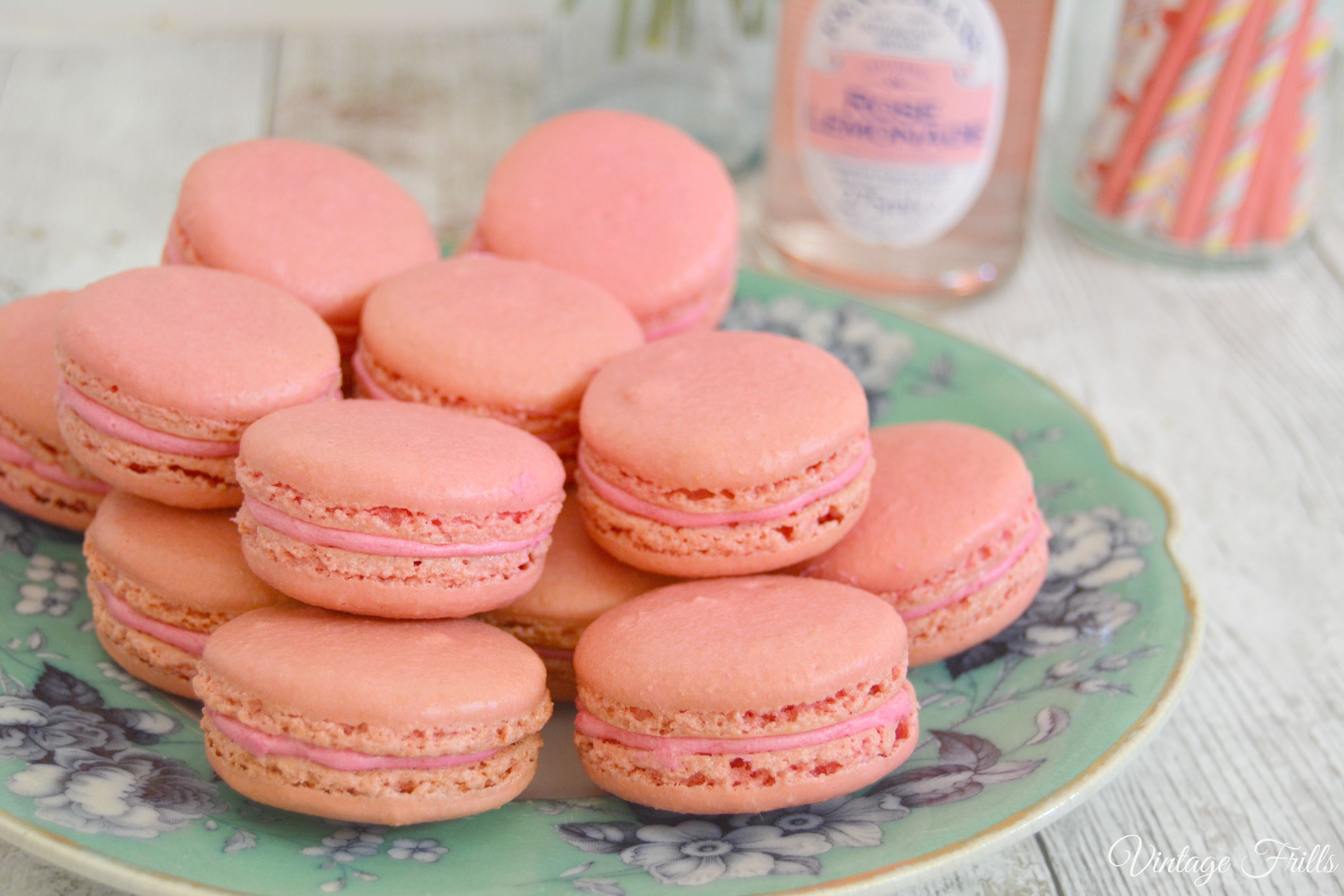 How To Make Perfect Macarons Vintage Frills