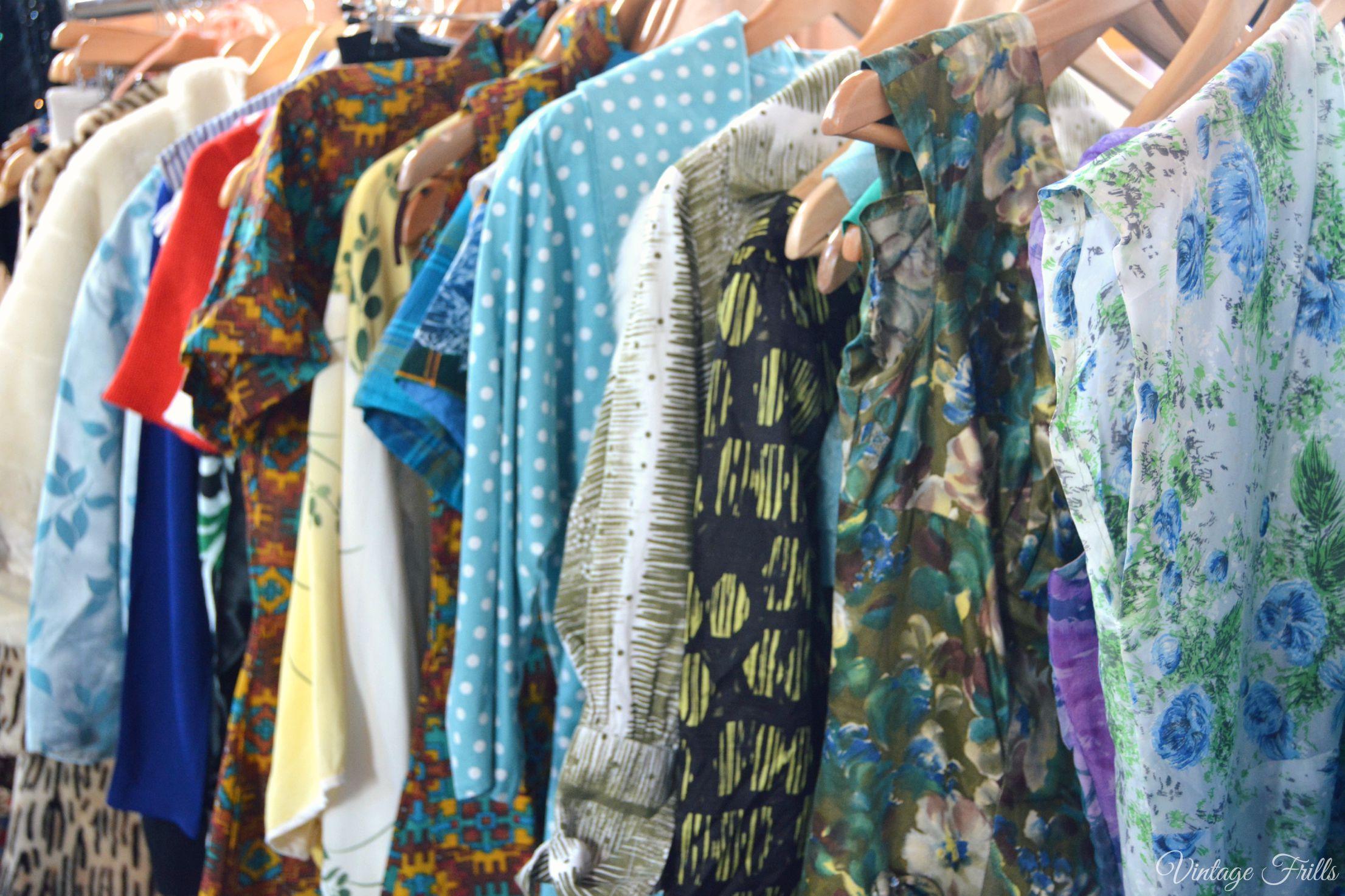 Vintage Dresses at the Midcentury Market